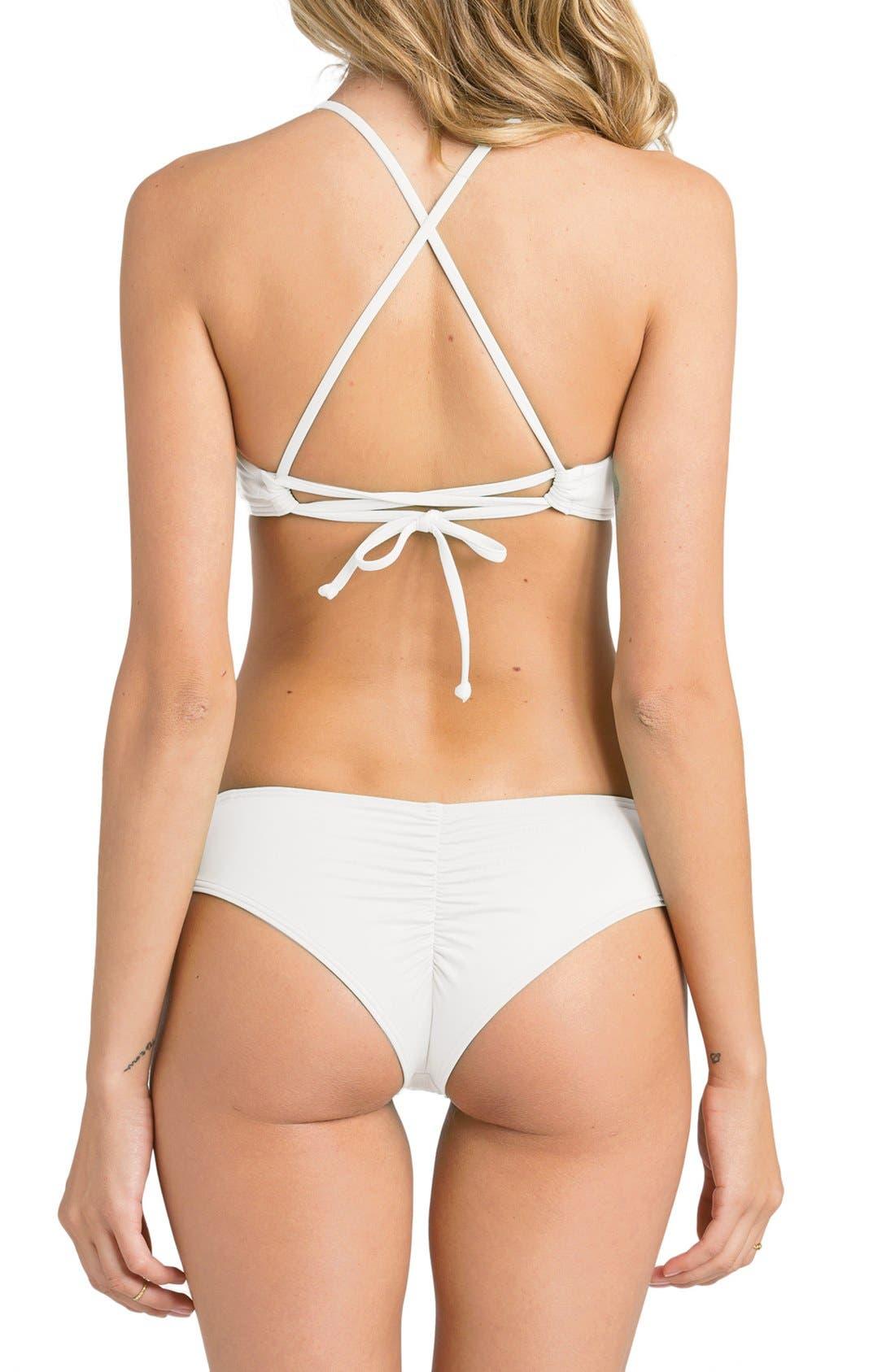'Sol Searcher Hawaii' Cheeky Bikini Bottoms,                             Alternate thumbnail 13, color,
