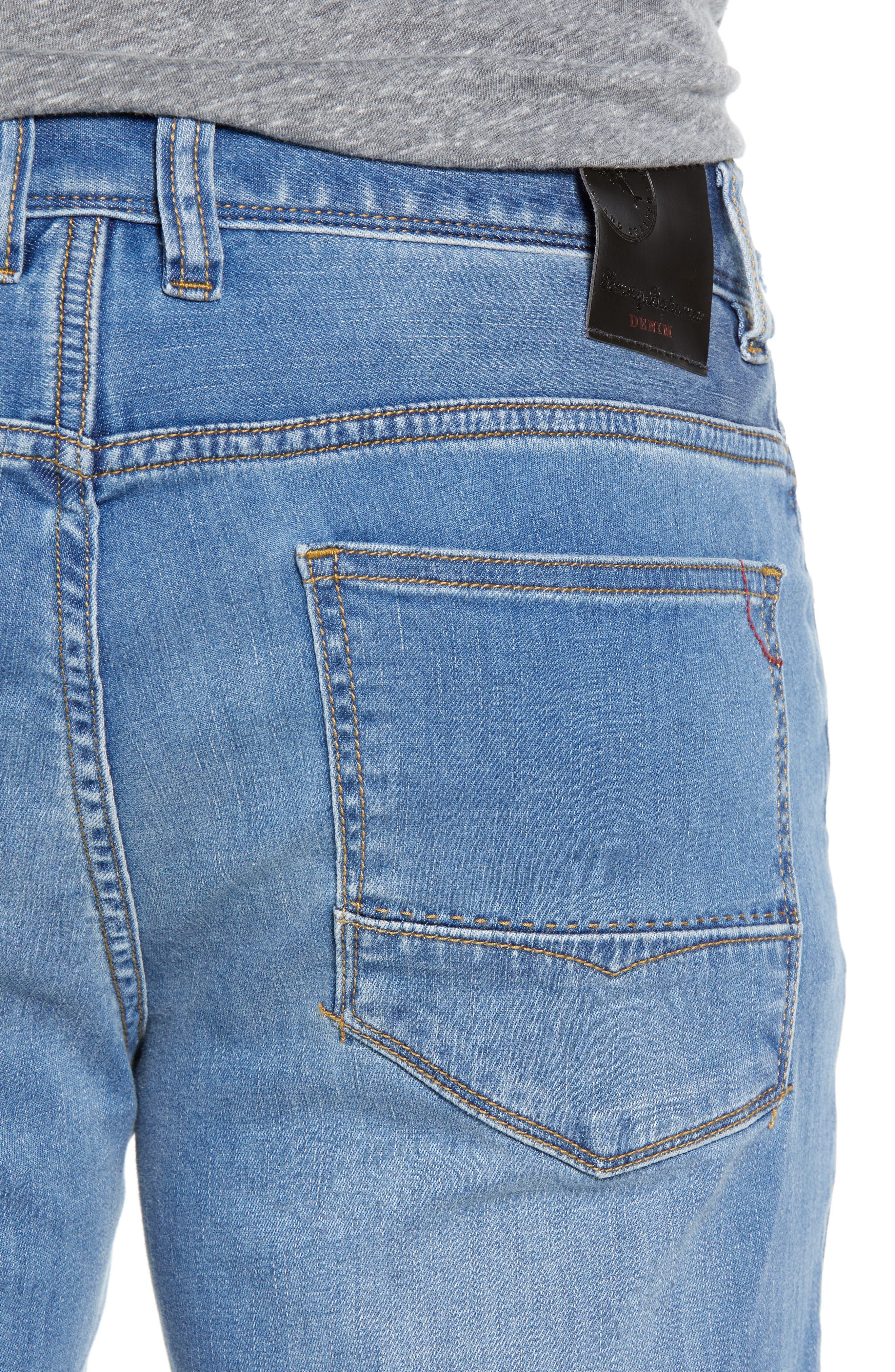 Costa Rica Vintage Regular Fit Jeans,                             Alternate thumbnail 4, color,                             MED WASH
