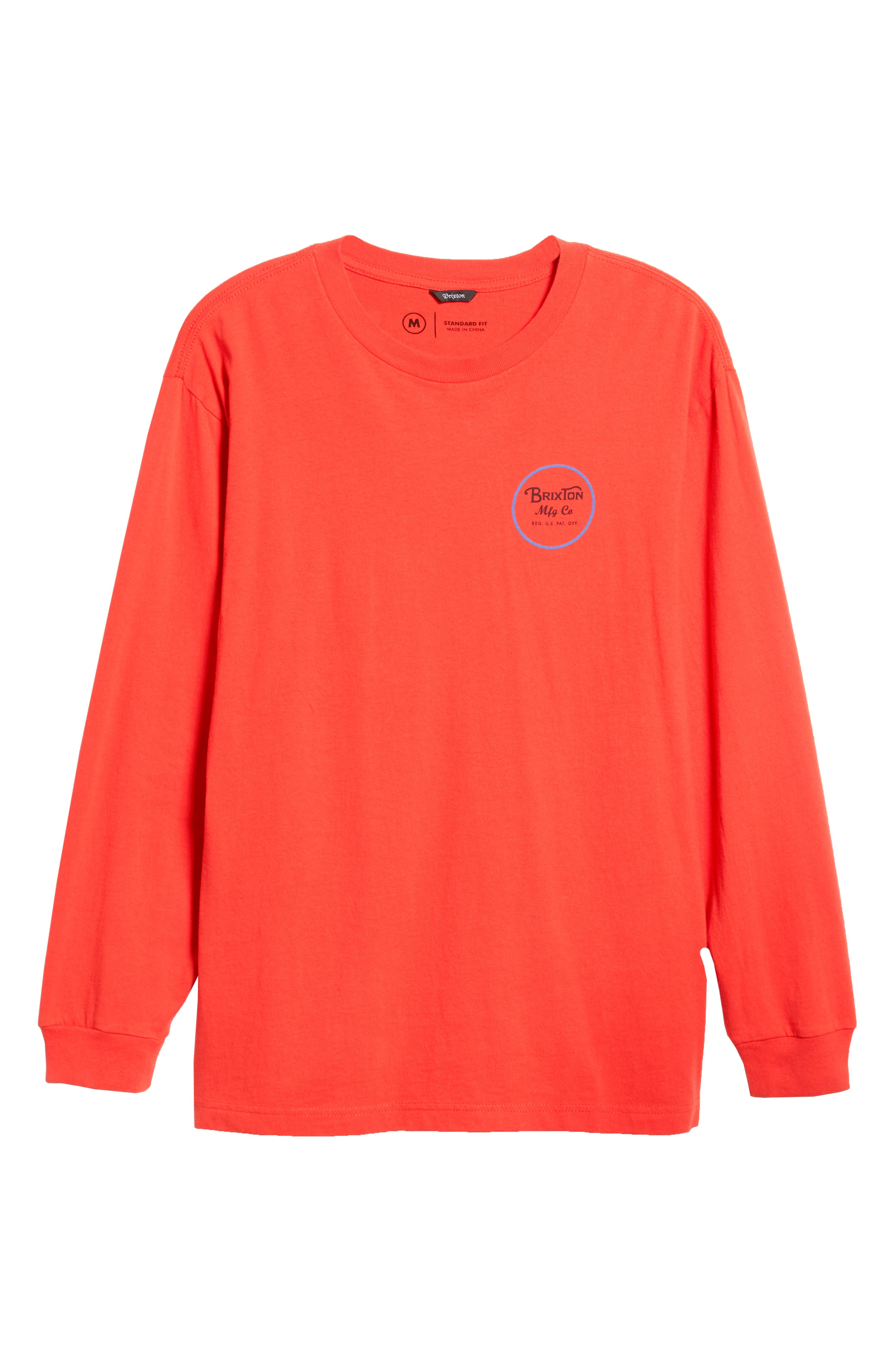 Wheeler II T-Shirt,                             Alternate thumbnail 6, color,                             ORANGE