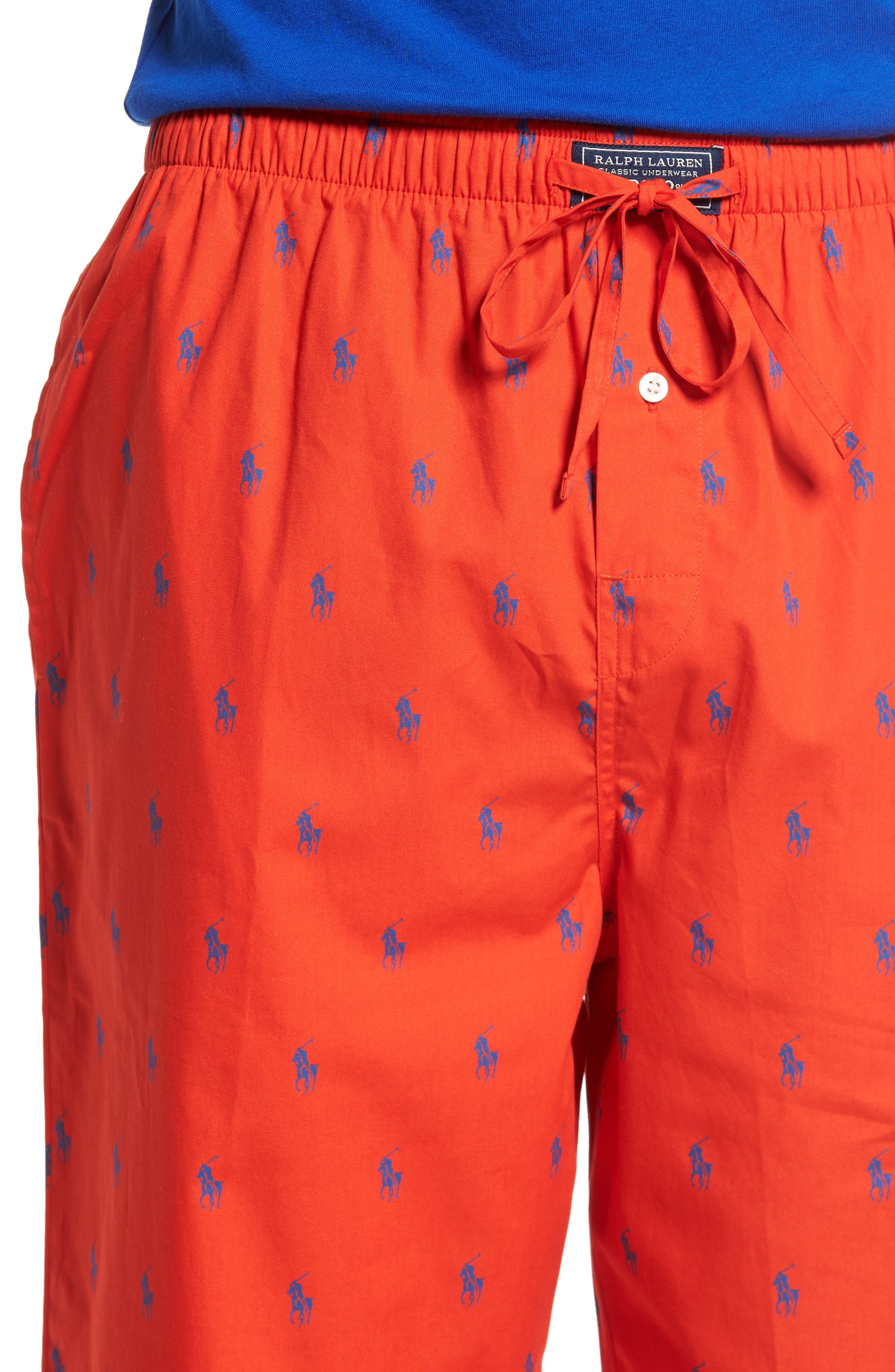 Polo Ralph Lauren Cotton Lounge Pants,                             Alternate thumbnail 20, color,
