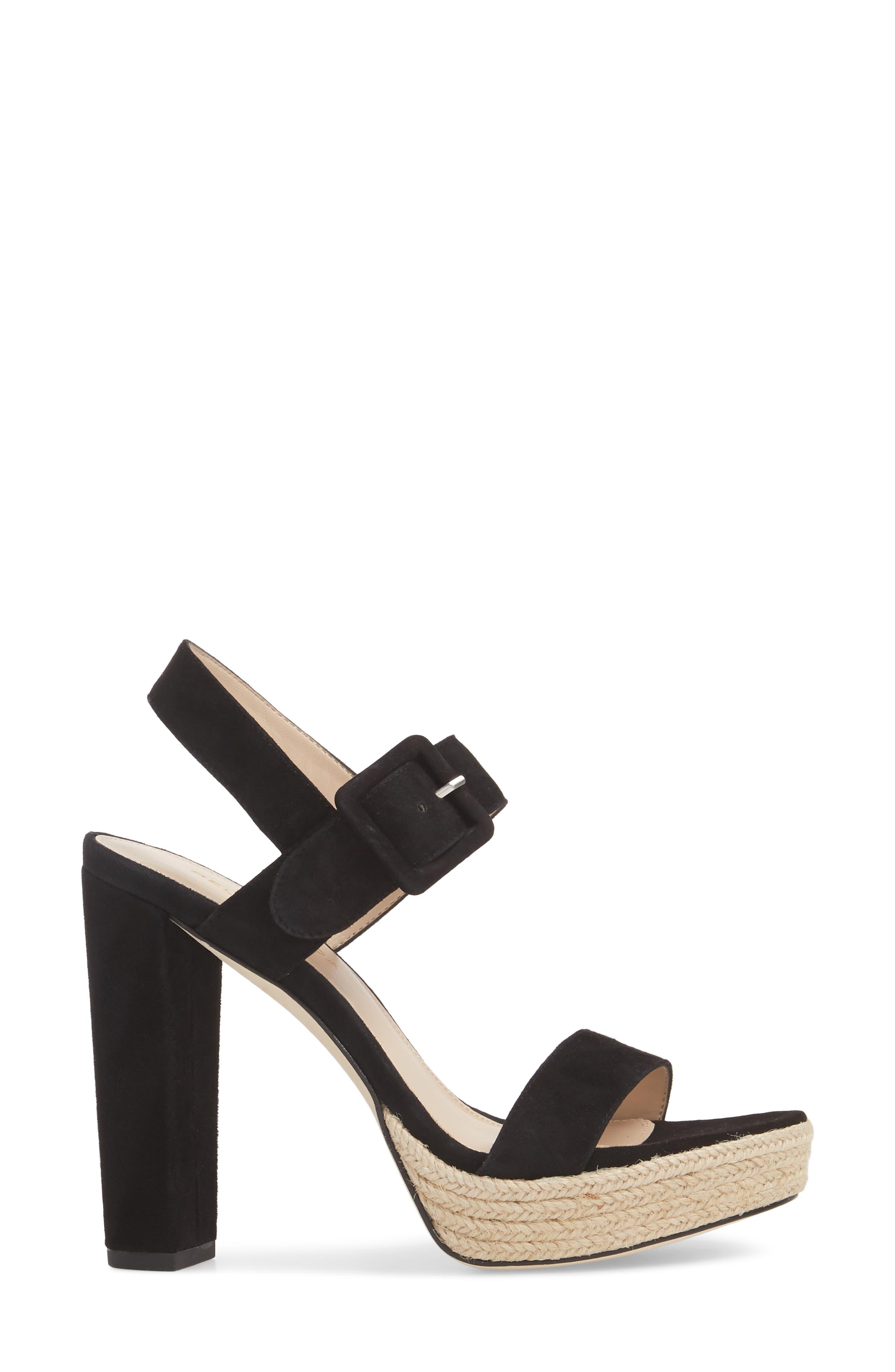 Paloma Platform Sandal,                             Alternate thumbnail 3, color,                             002