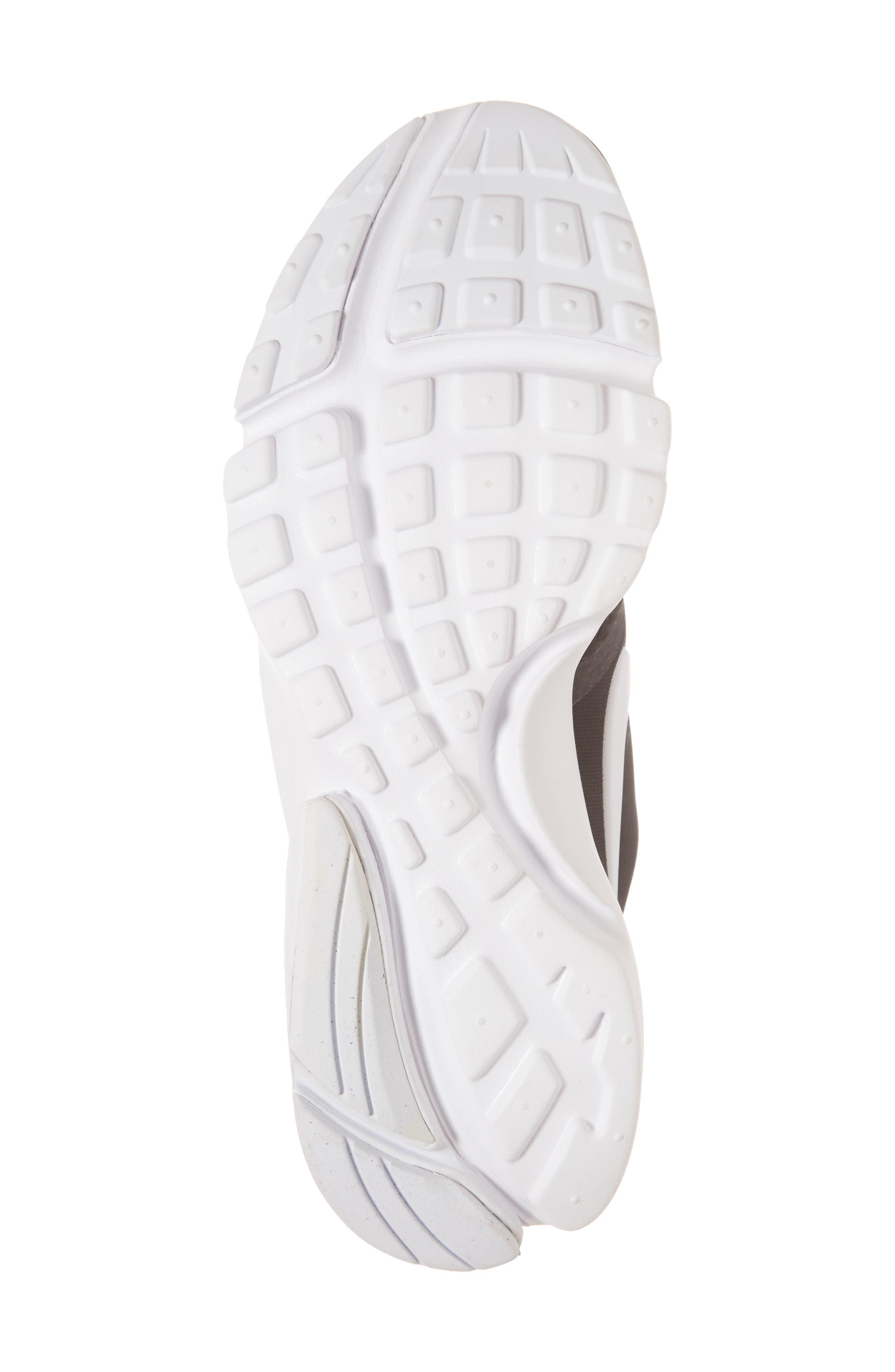 Presto Fly Sneaker,                             Alternate thumbnail 6, color,                             BLACK/ WHITE/ ANTHRACITE