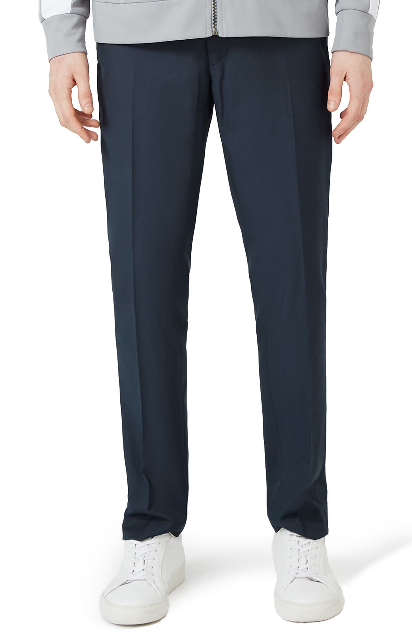 Skinny Fit Suit Trousers,                             Main thumbnail 1, color,                             420