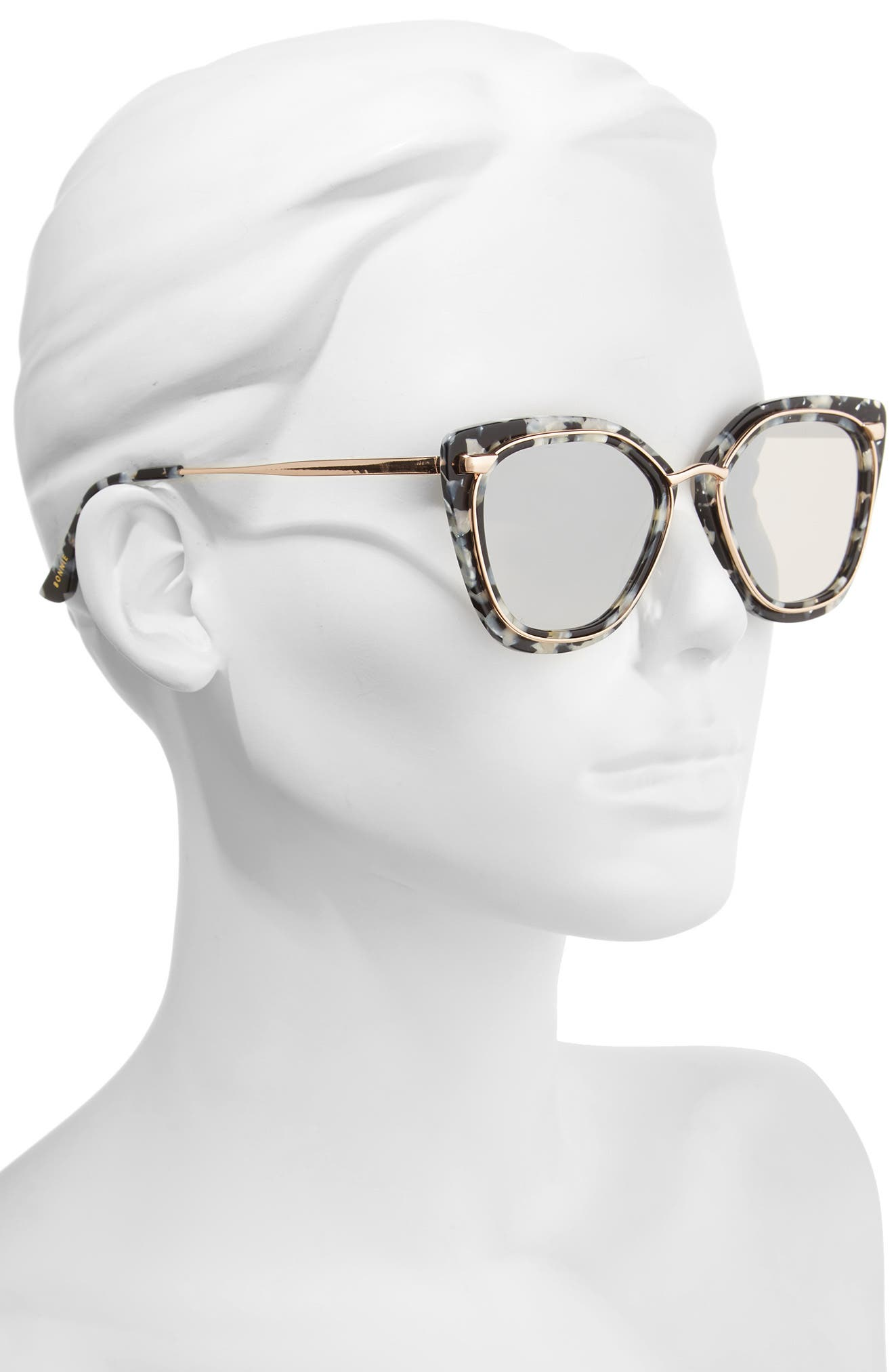 Temple 52mm Sunglasses,                             Alternate thumbnail 5, color,