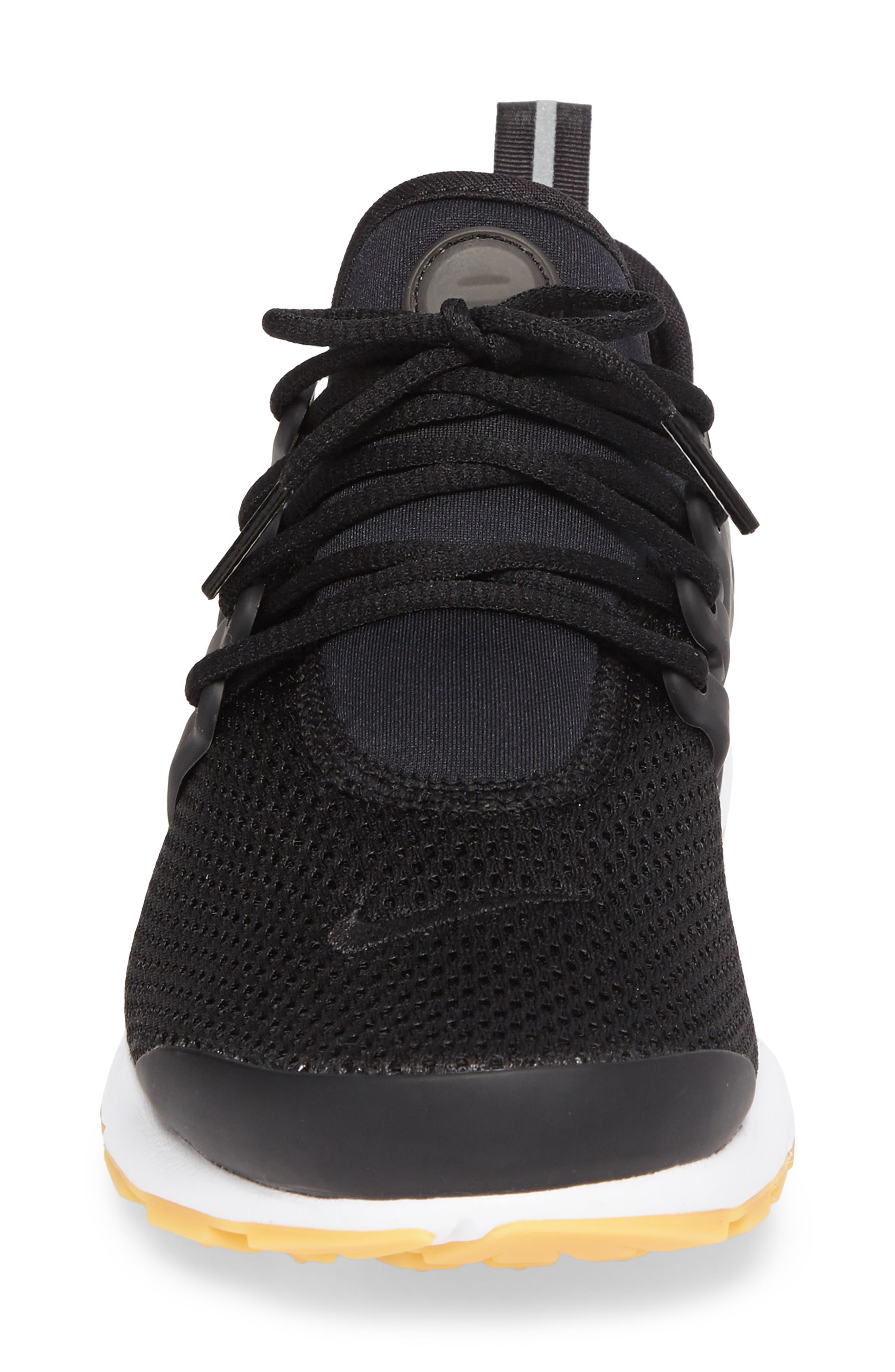 Air Presto Flyknit Ultra Sneaker,                             Alternate thumbnail 4, color,                             005