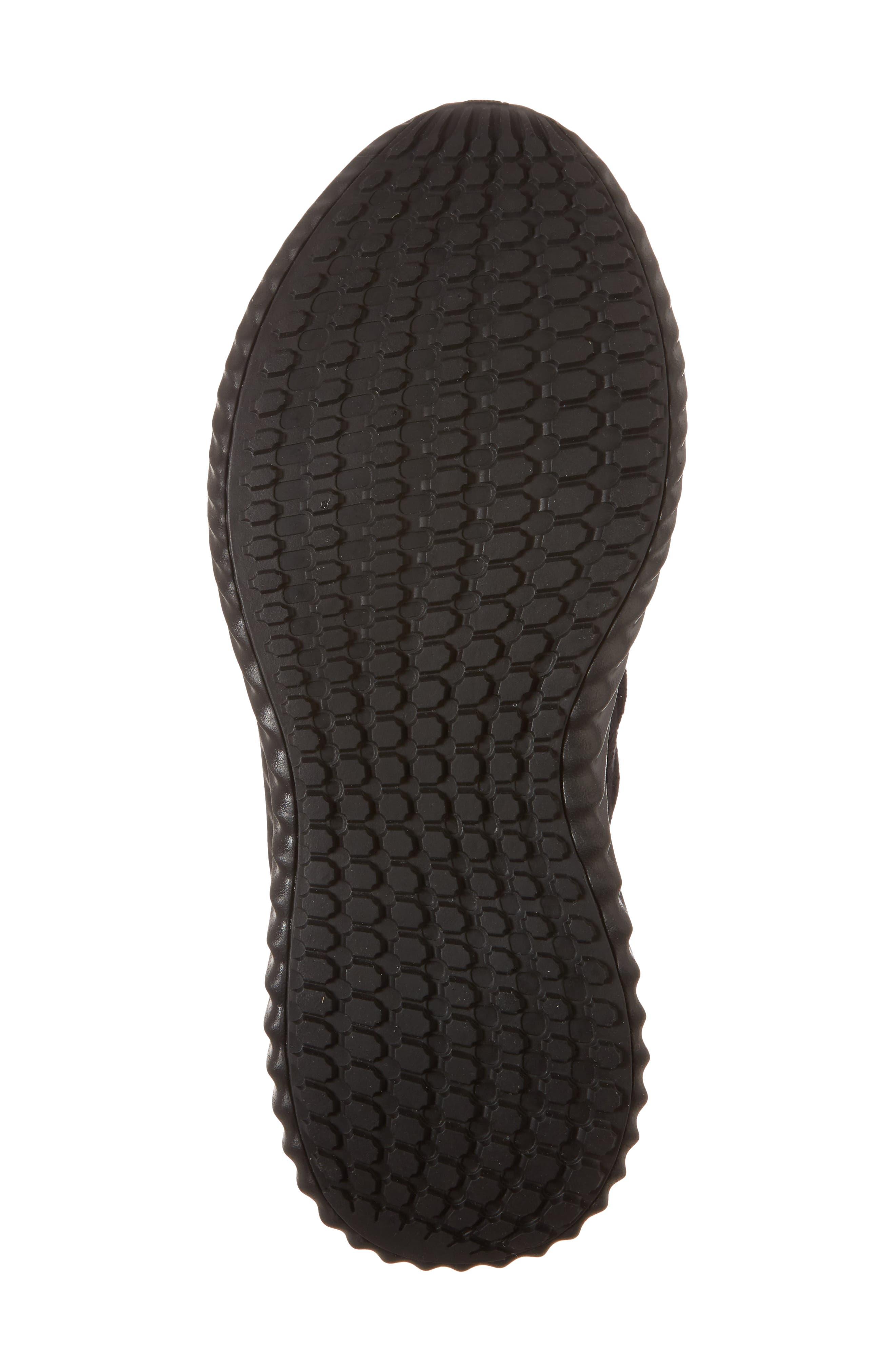 AlphaBounce CR Running Shoe,                             Alternate thumbnail 6, color,                             CORE BLACK/ CORE BLACK