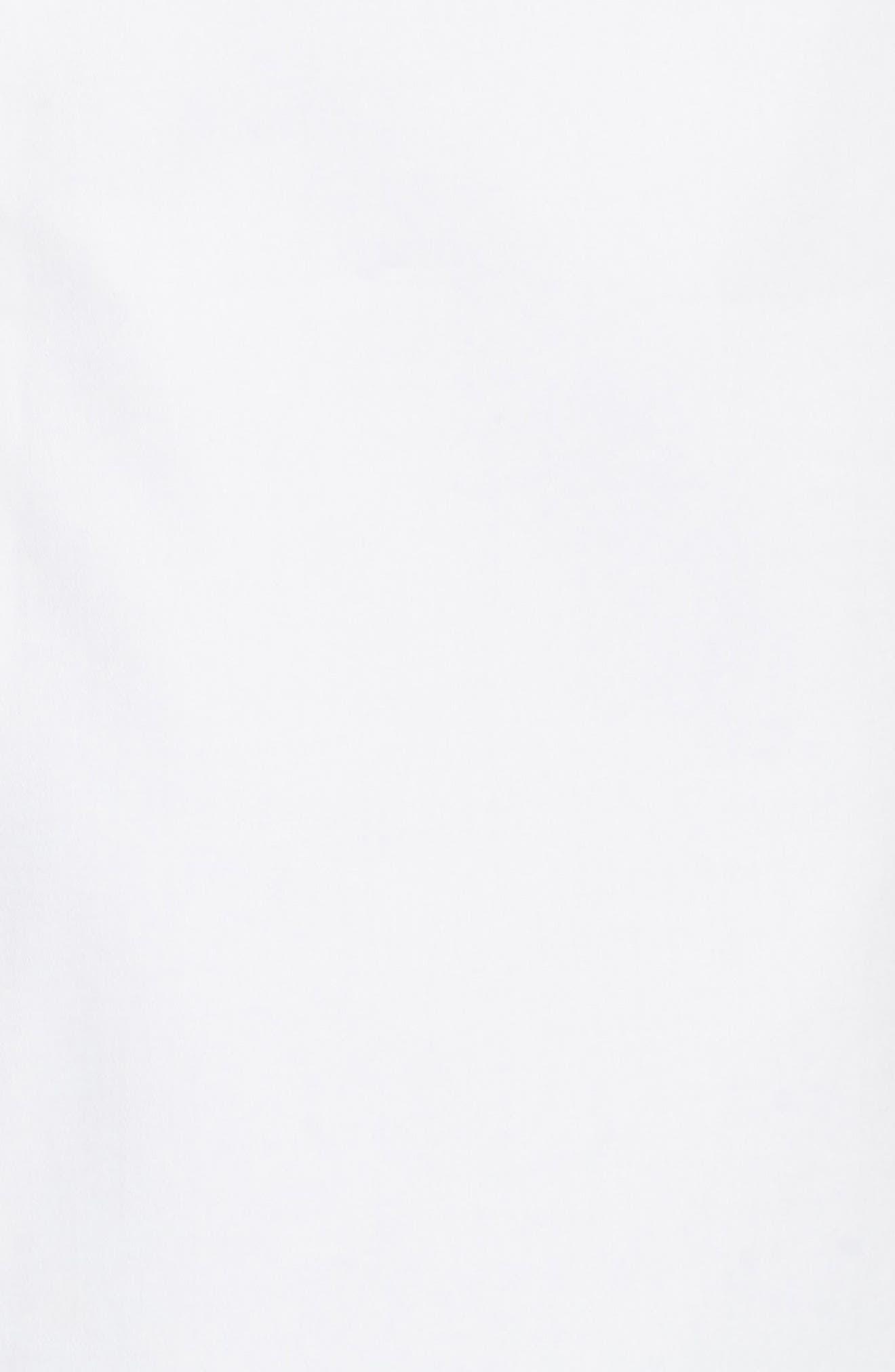 Semarra Embroidered Cold Shoulder Dress,                             Alternate thumbnail 5, color,                             110