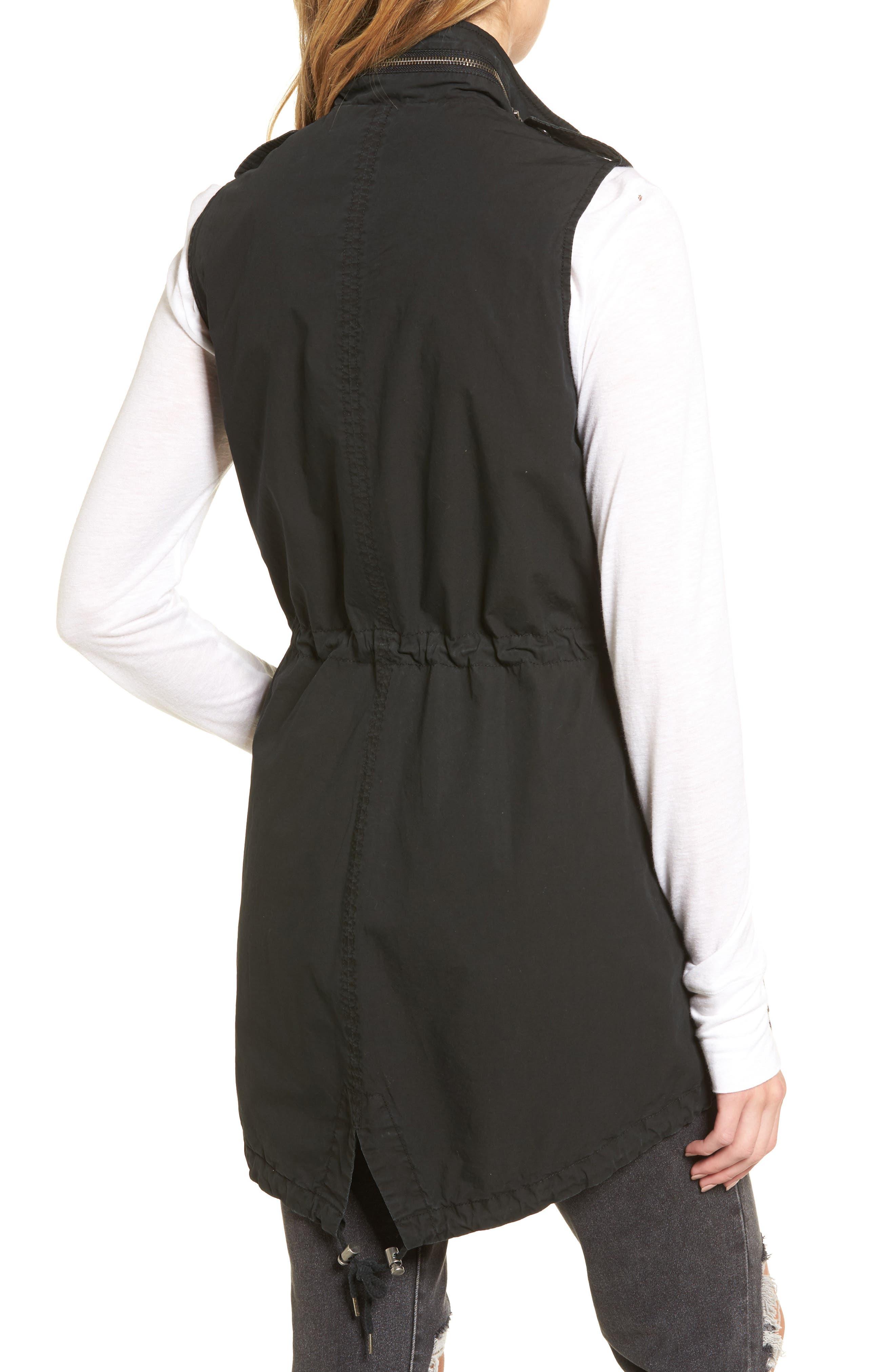 Levi's Parachute Cotton Vest,                             Alternate thumbnail 4, color,