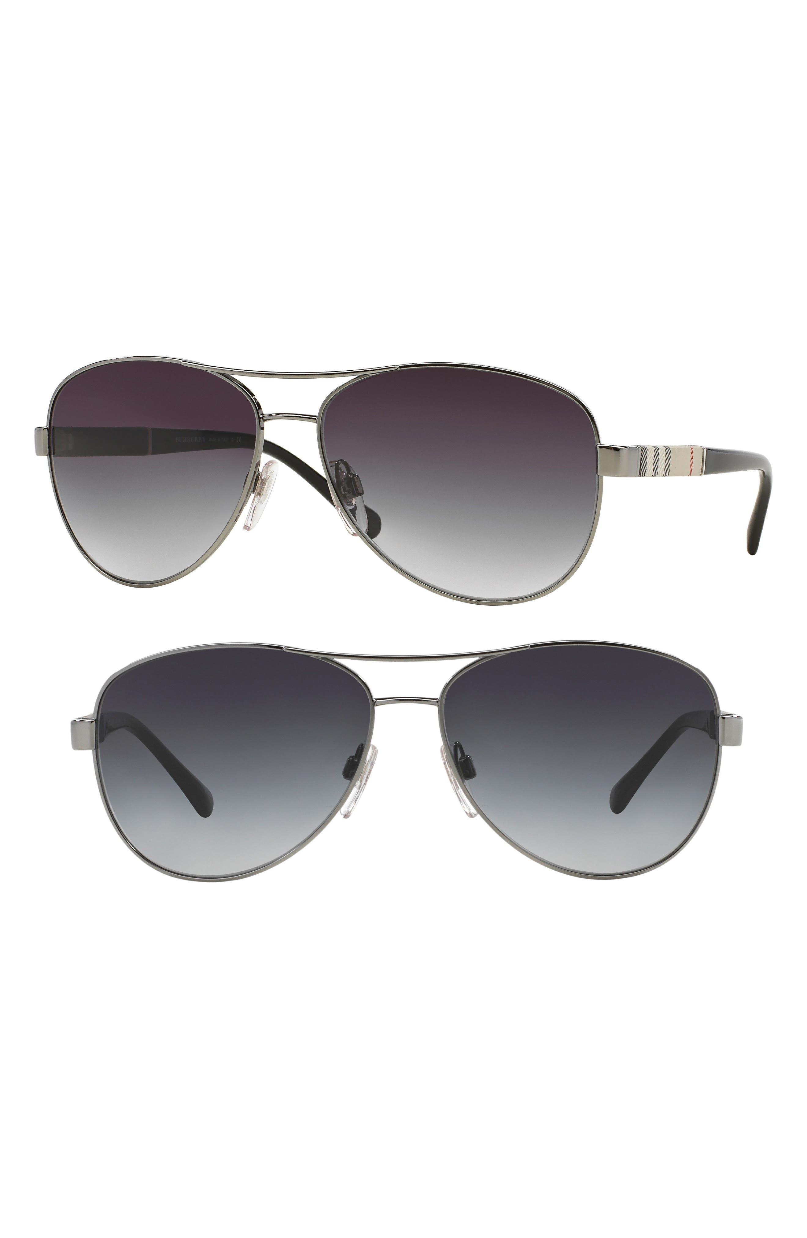 59mm Aviator Sunglasses,                         Main,                         color, 710