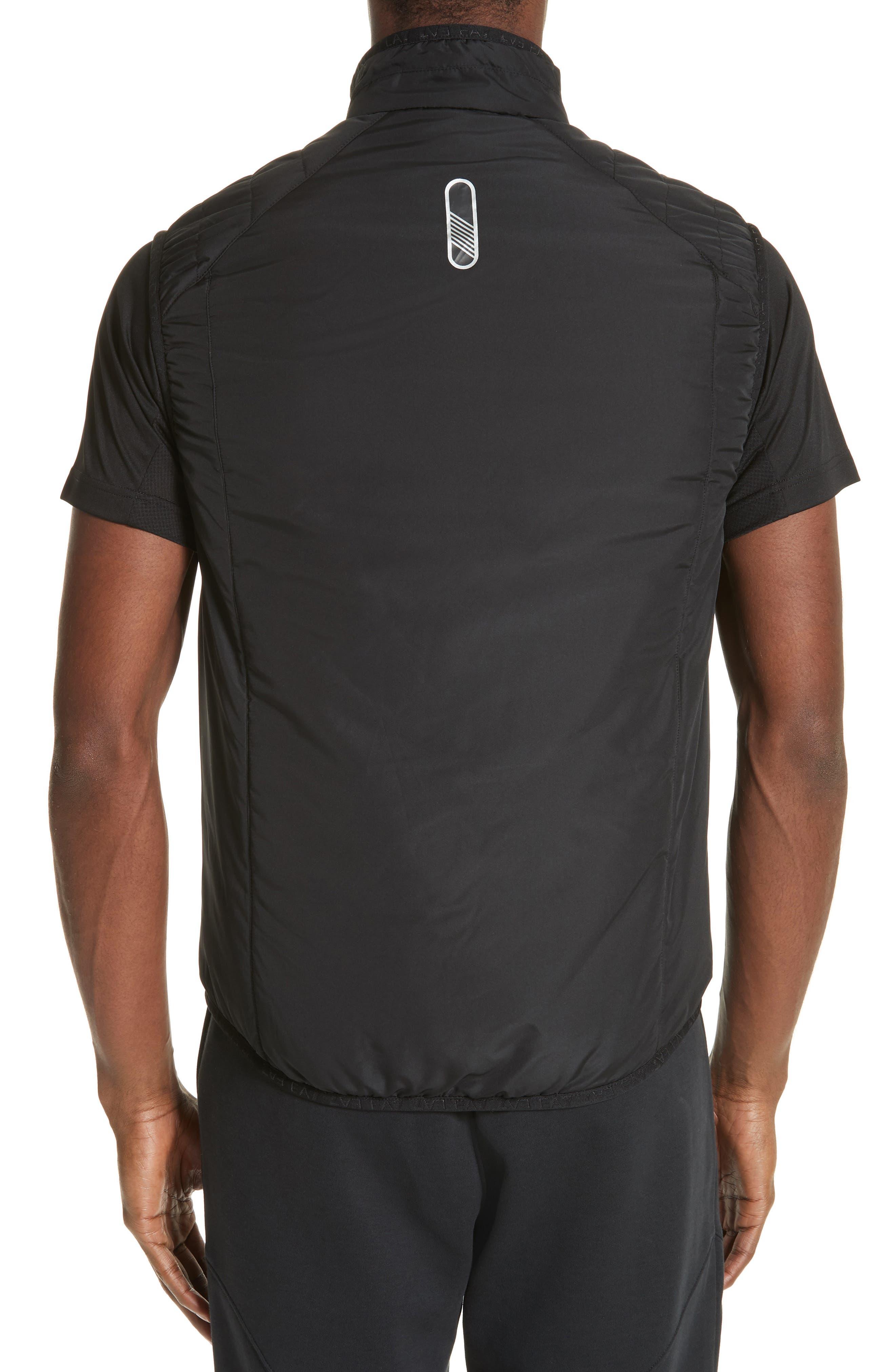 Water Resistant Vest,                             Alternate thumbnail 2, color,                             BLACK