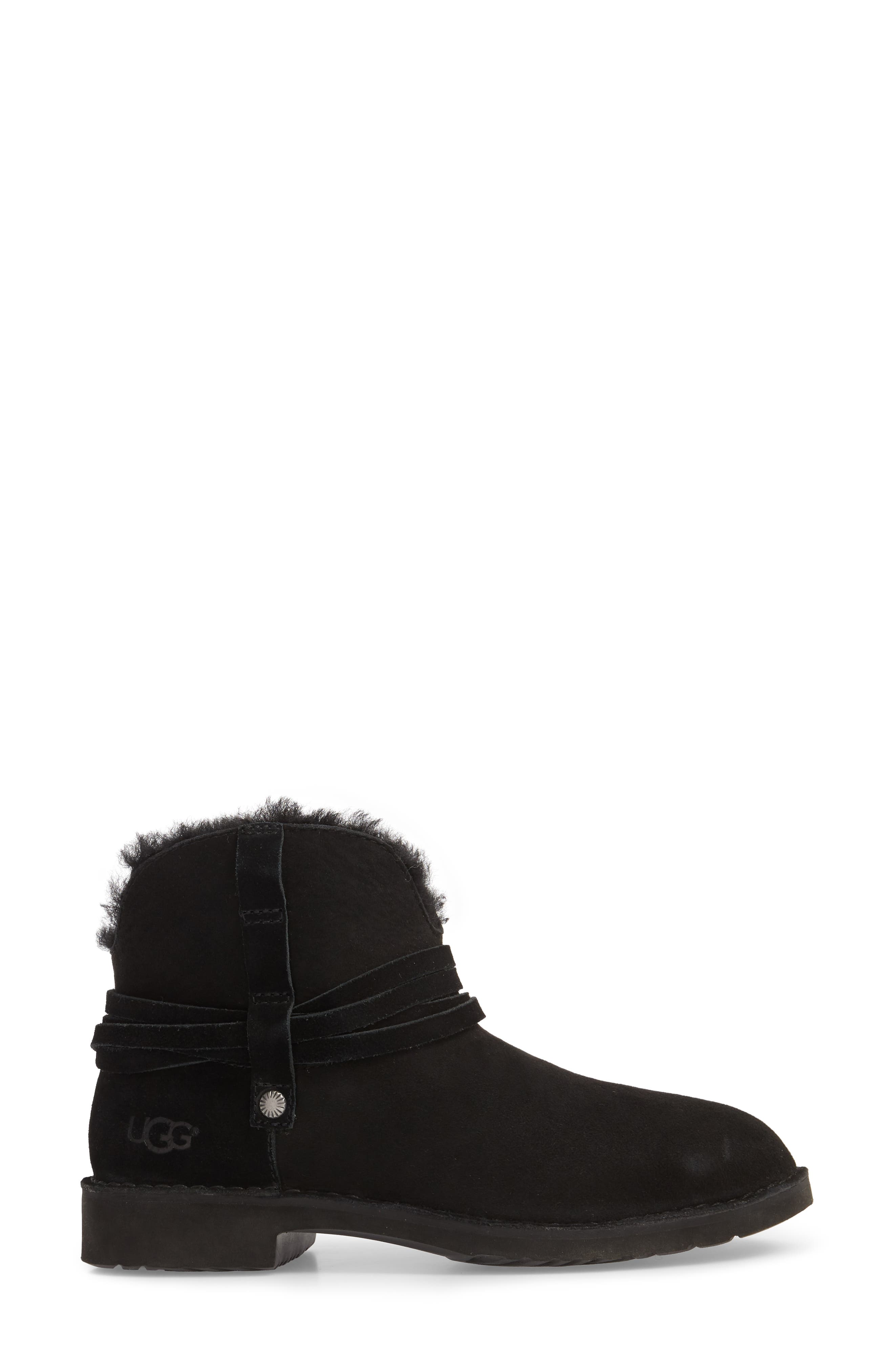 Pasqual Boot,                             Alternate thumbnail 3, color,                             BLACK SUEDE