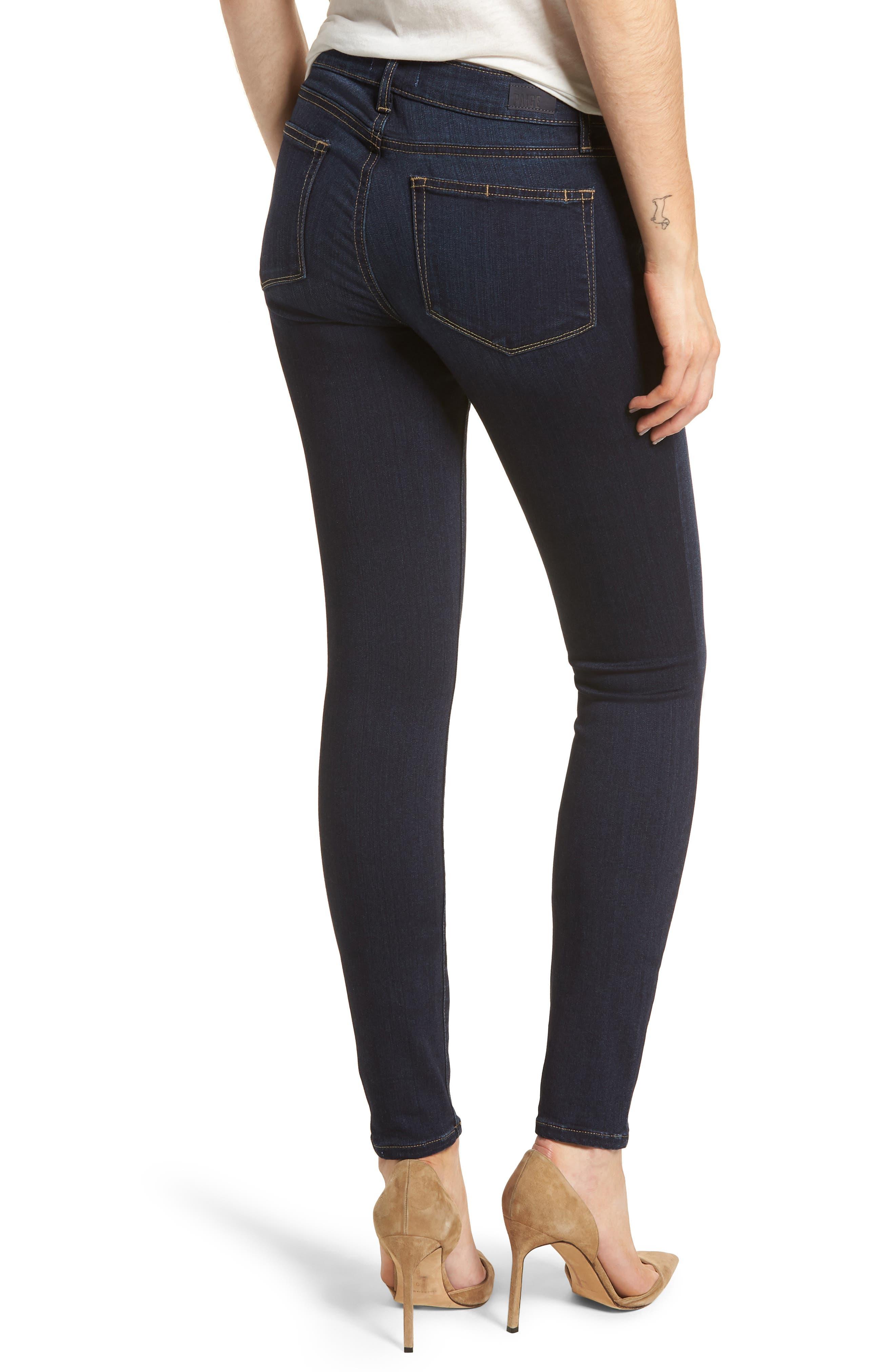 Transcend - Verdugo Ultra Skinny Jeans,                             Alternate thumbnail 2, color,                             400