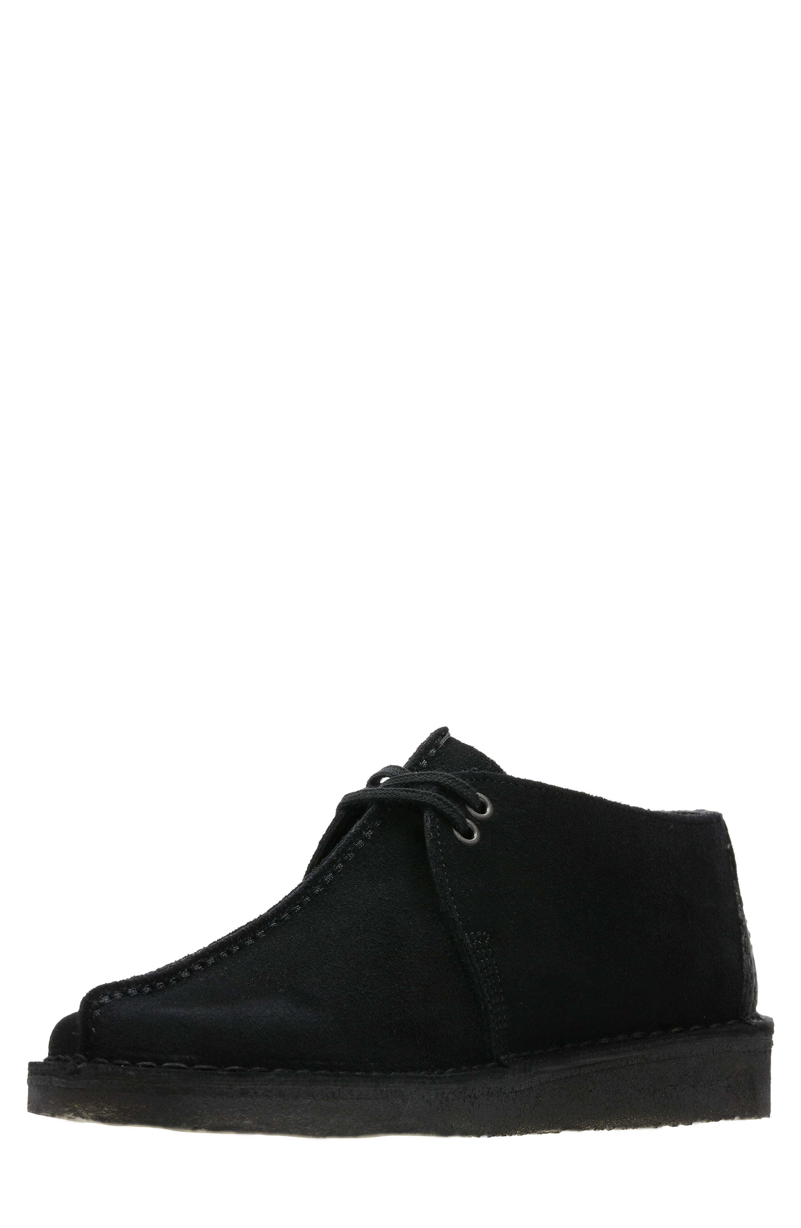 Originals 'Desert - Trek' Oxford,                             Alternate thumbnail 7, color,                             BLACK/BLACK SUEDE
