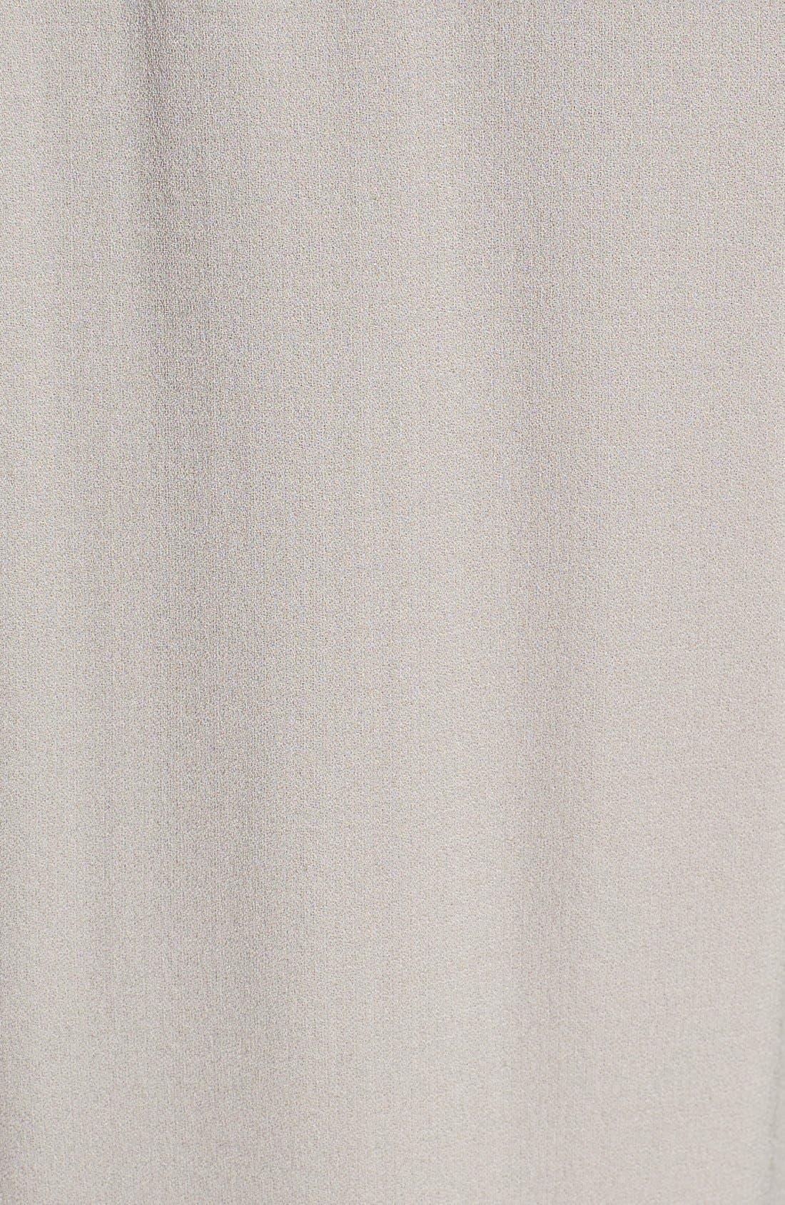 Silk Georgette Crepe Straight Ankle Pants,                             Alternate thumbnail 26, color,