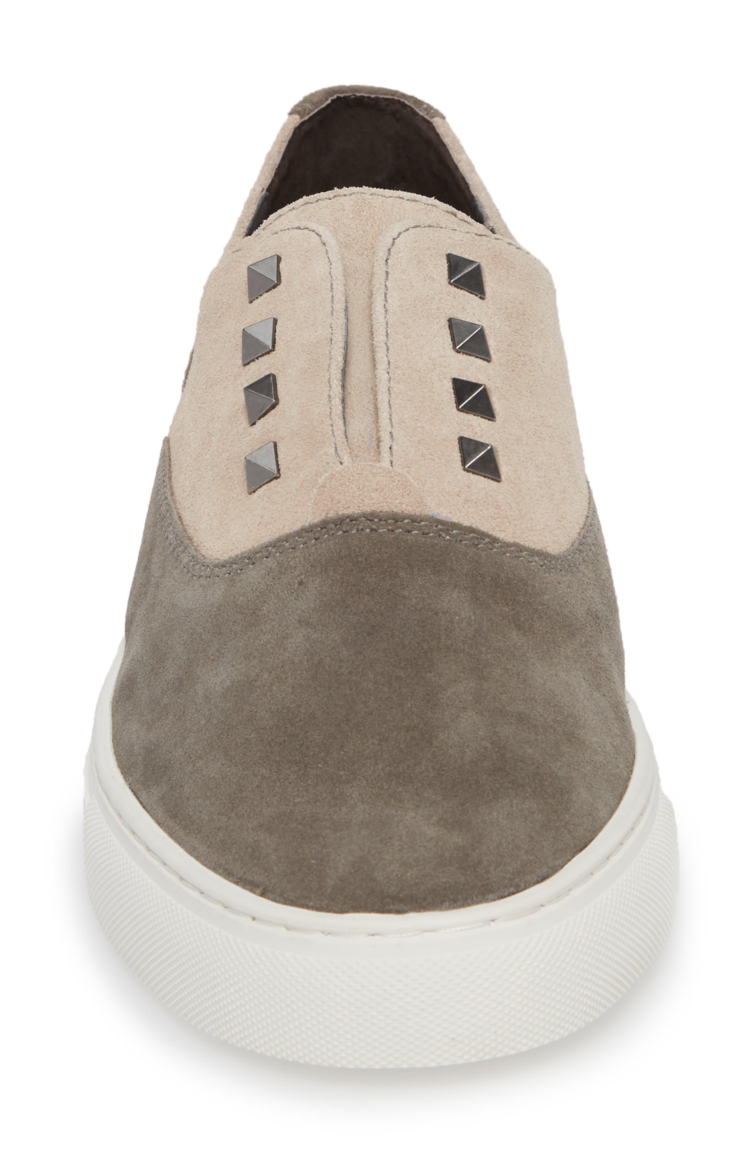Aryo Studded Laceless Sneaker,                             Alternate thumbnail 8, color,