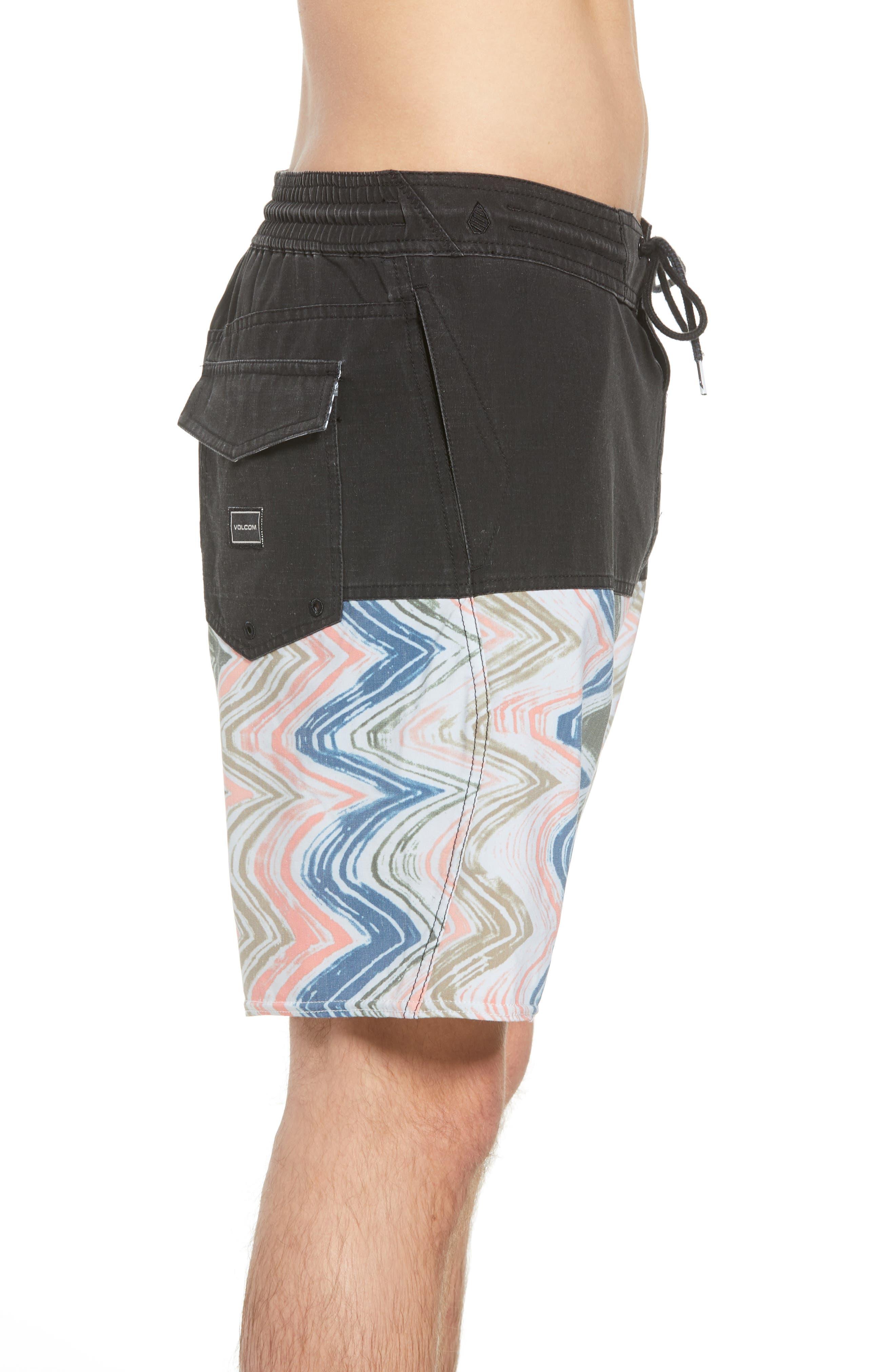 Vibes Half Stoney Board Shorts,                             Alternate thumbnail 9, color,