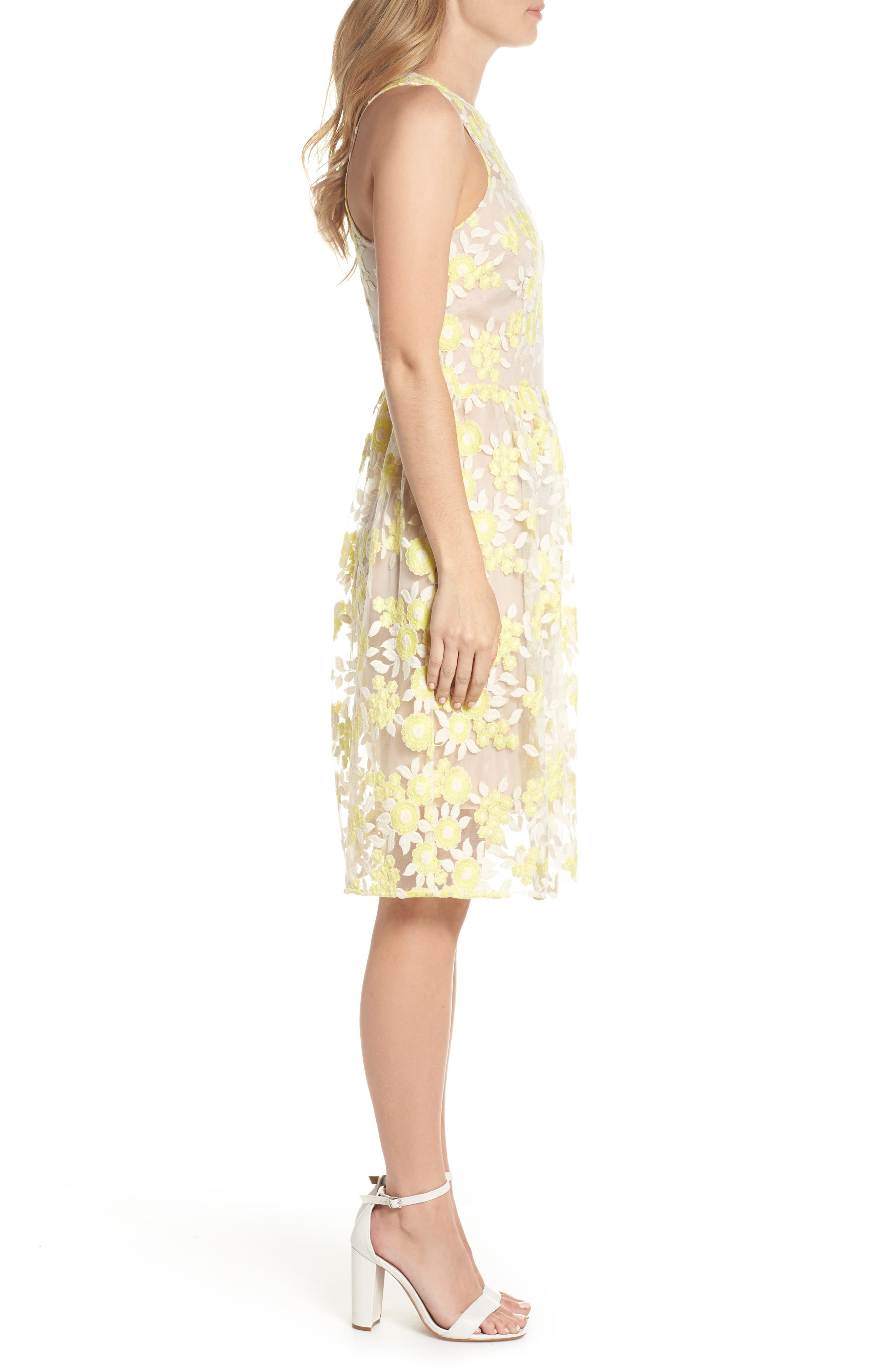 Arroyo Lace Dress,                             Alternate thumbnail 3, color,