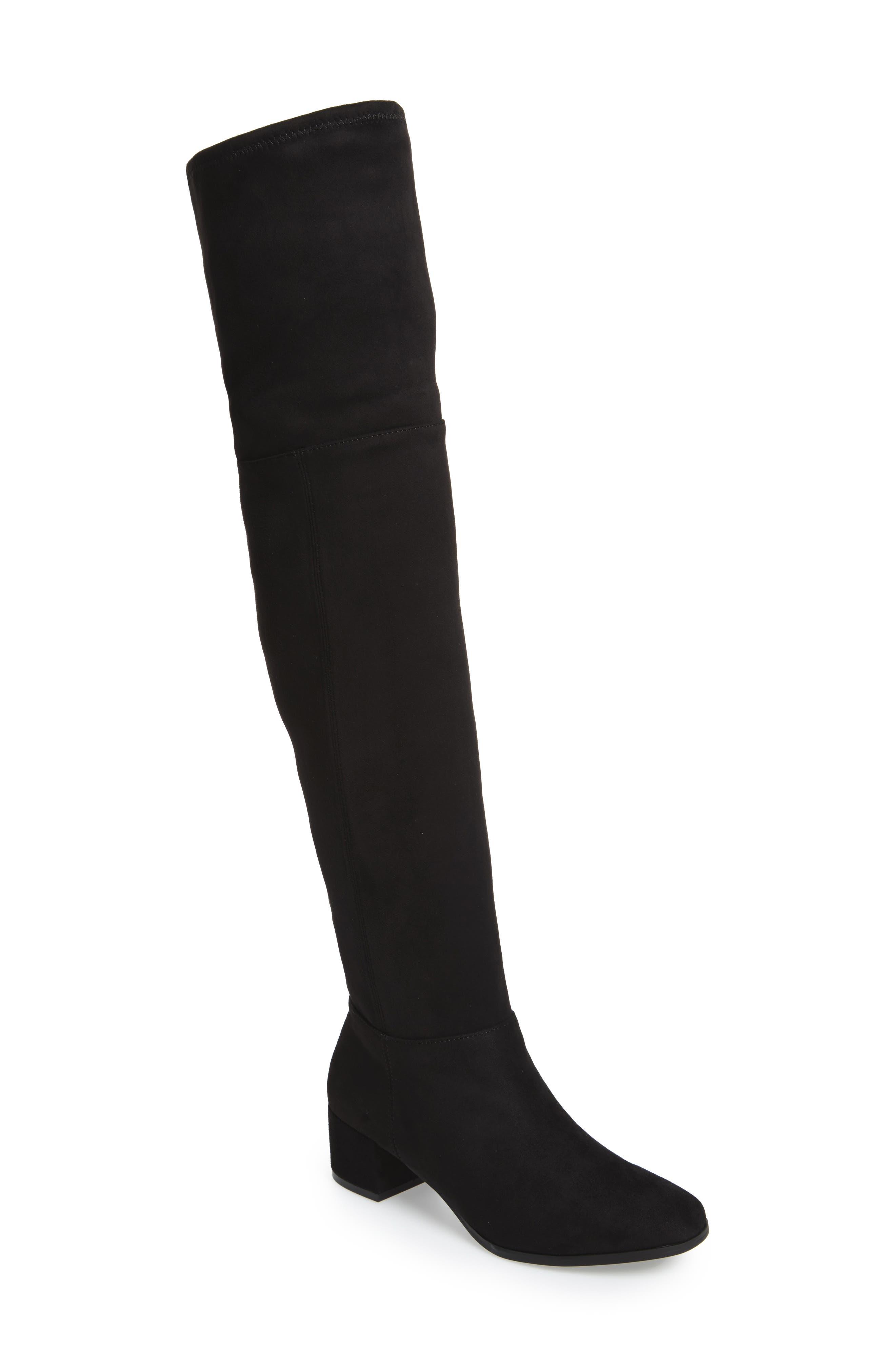 Festive Over the Knee Boot,                             Main thumbnail 1, color,