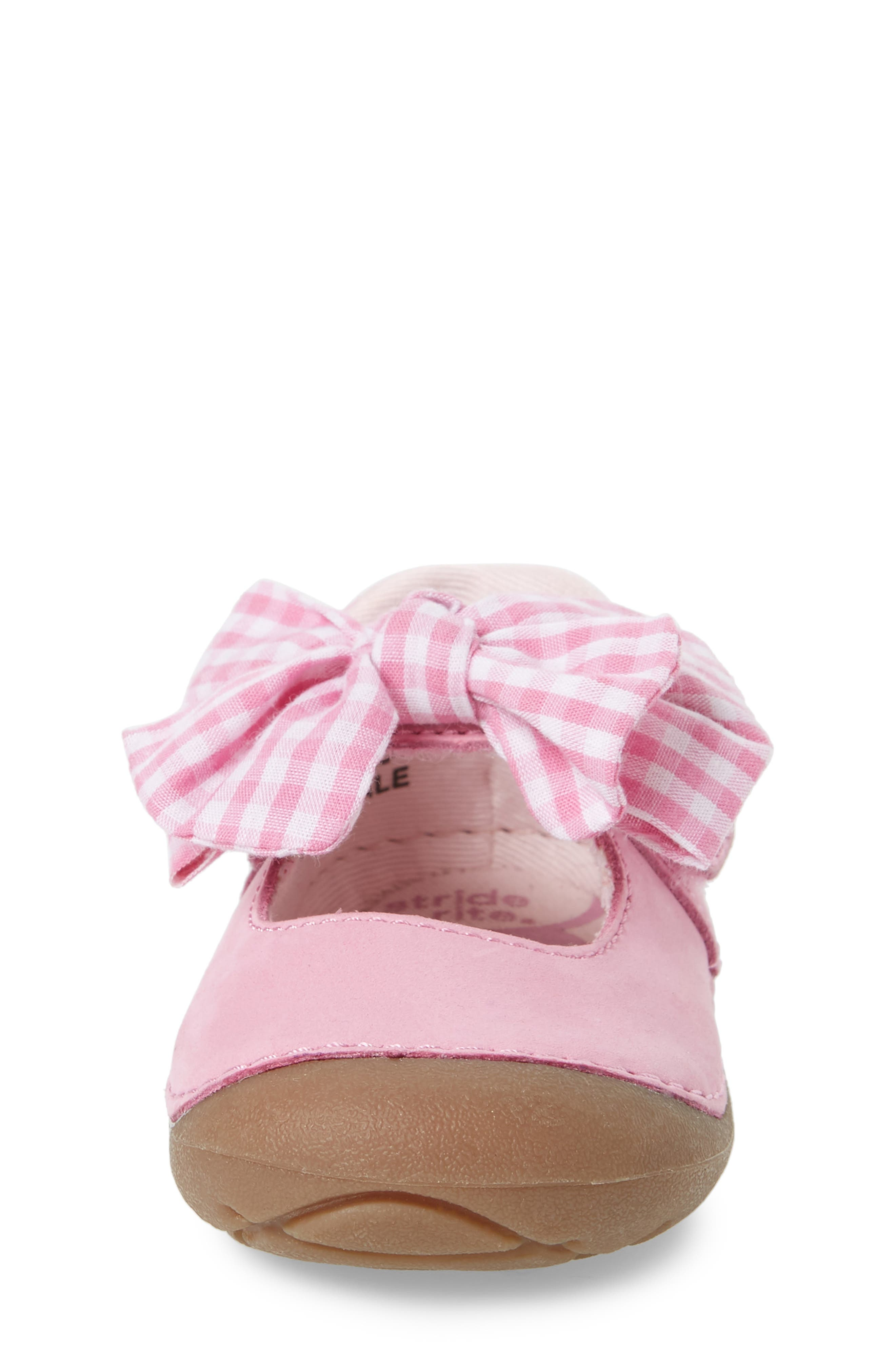 Soft Motion<sup>™</sup> Esme Mary Jane,                             Alternate thumbnail 4, color,                             PINK GINGHAM