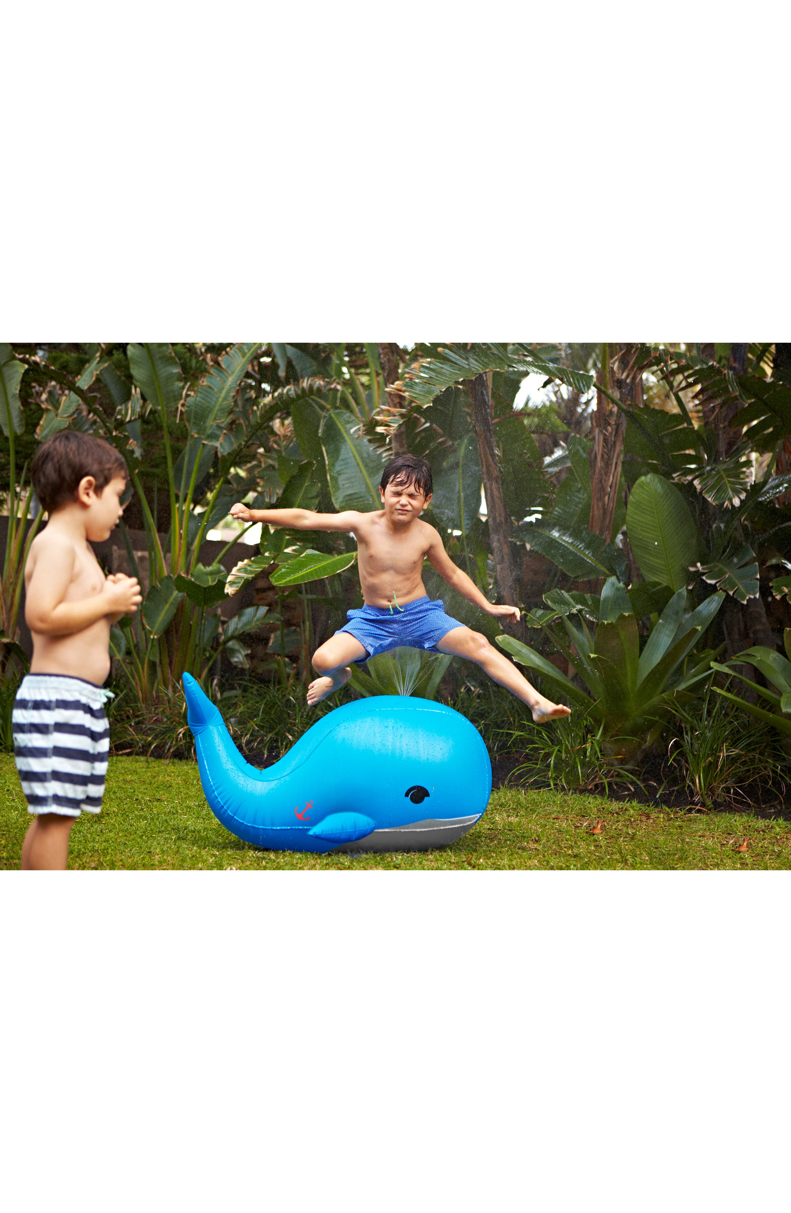 Moby Dick Inflatable Sprinkler,                             Alternate thumbnail 4, color,                             400