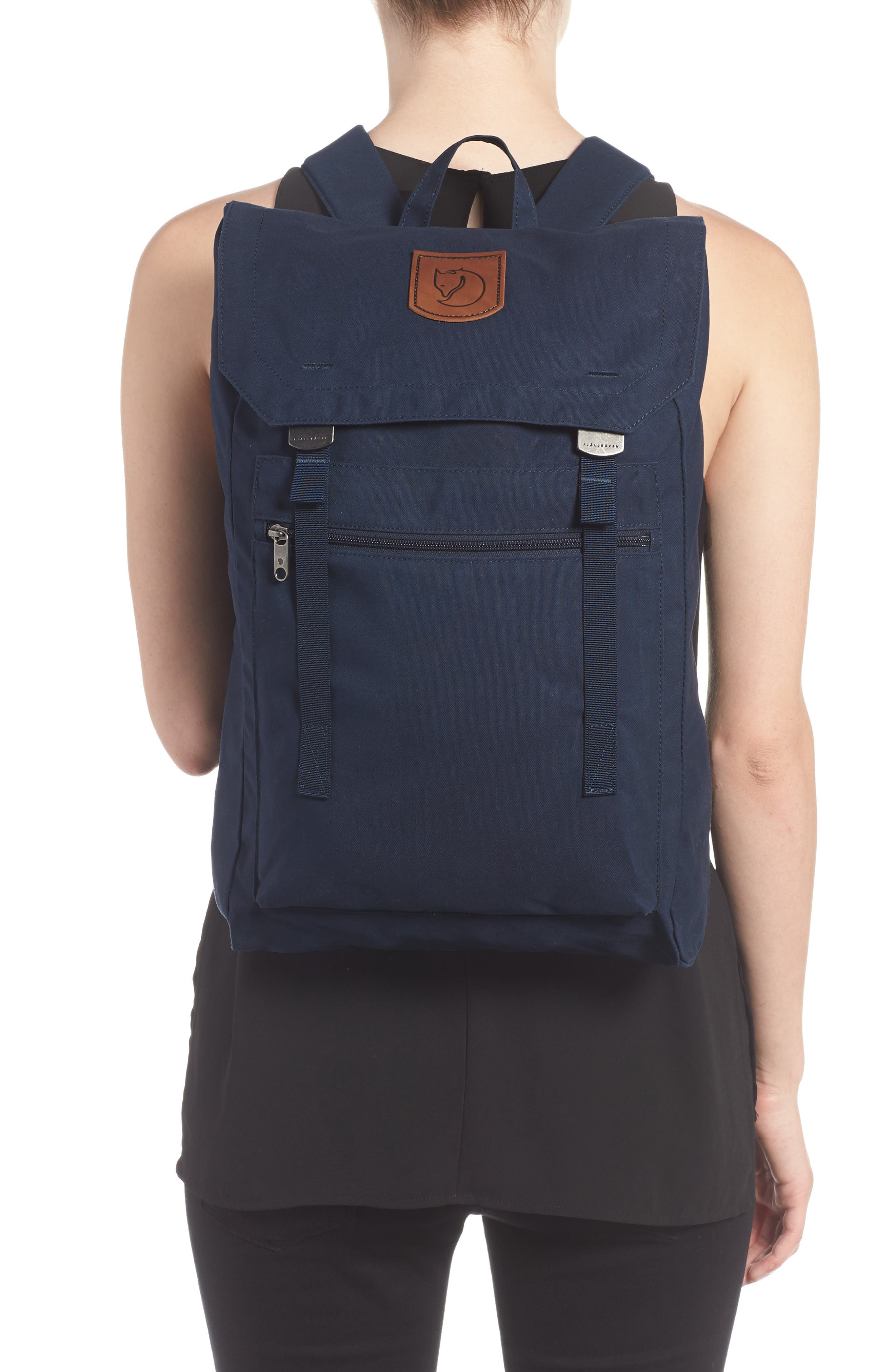 Foldsack No.1 Water Resistant Backpack,                             Alternate thumbnail 2, color,                             NAVY