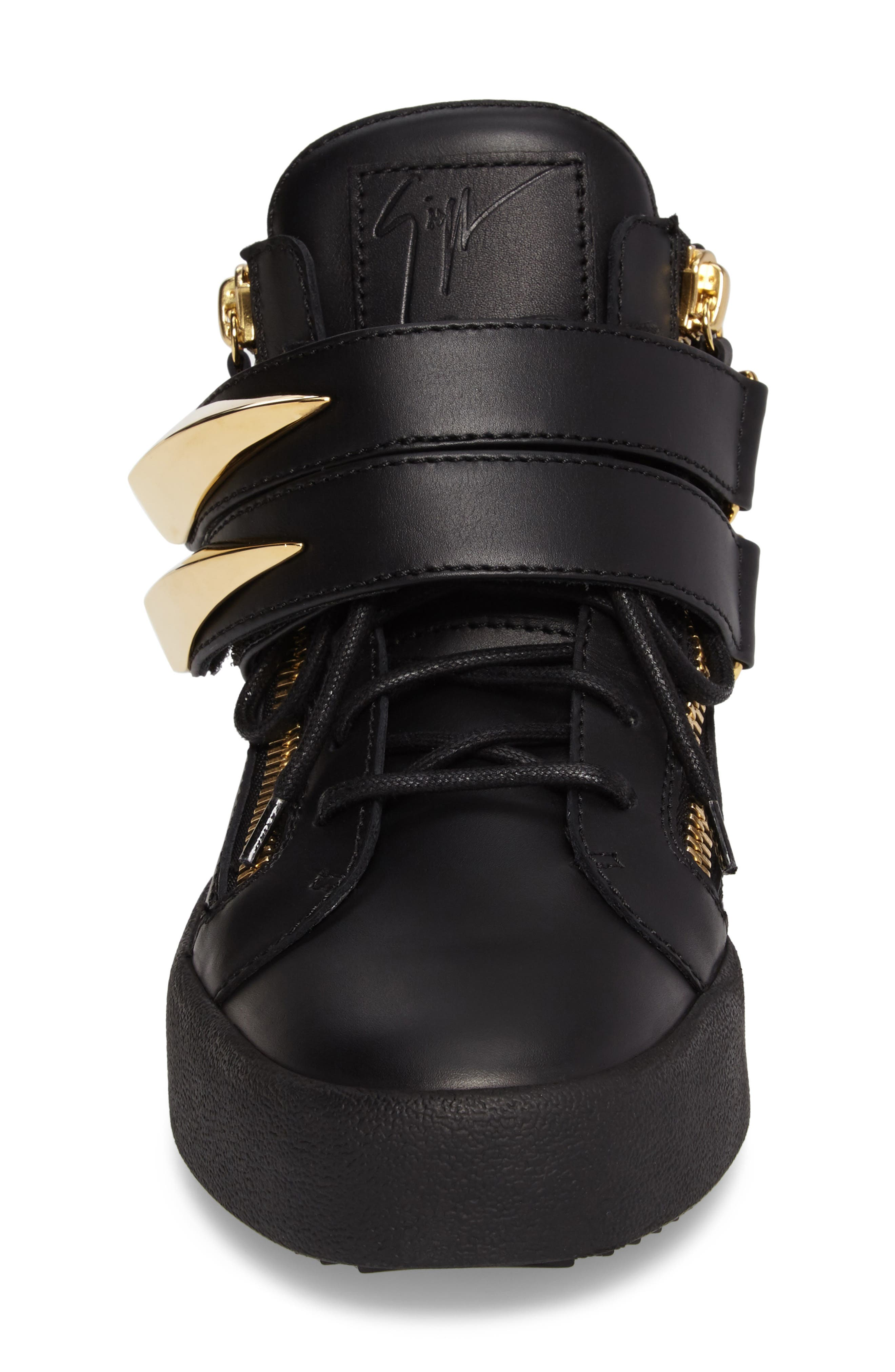 Gold Horn Mid Top Sneaker,                             Alternate thumbnail 4, color,