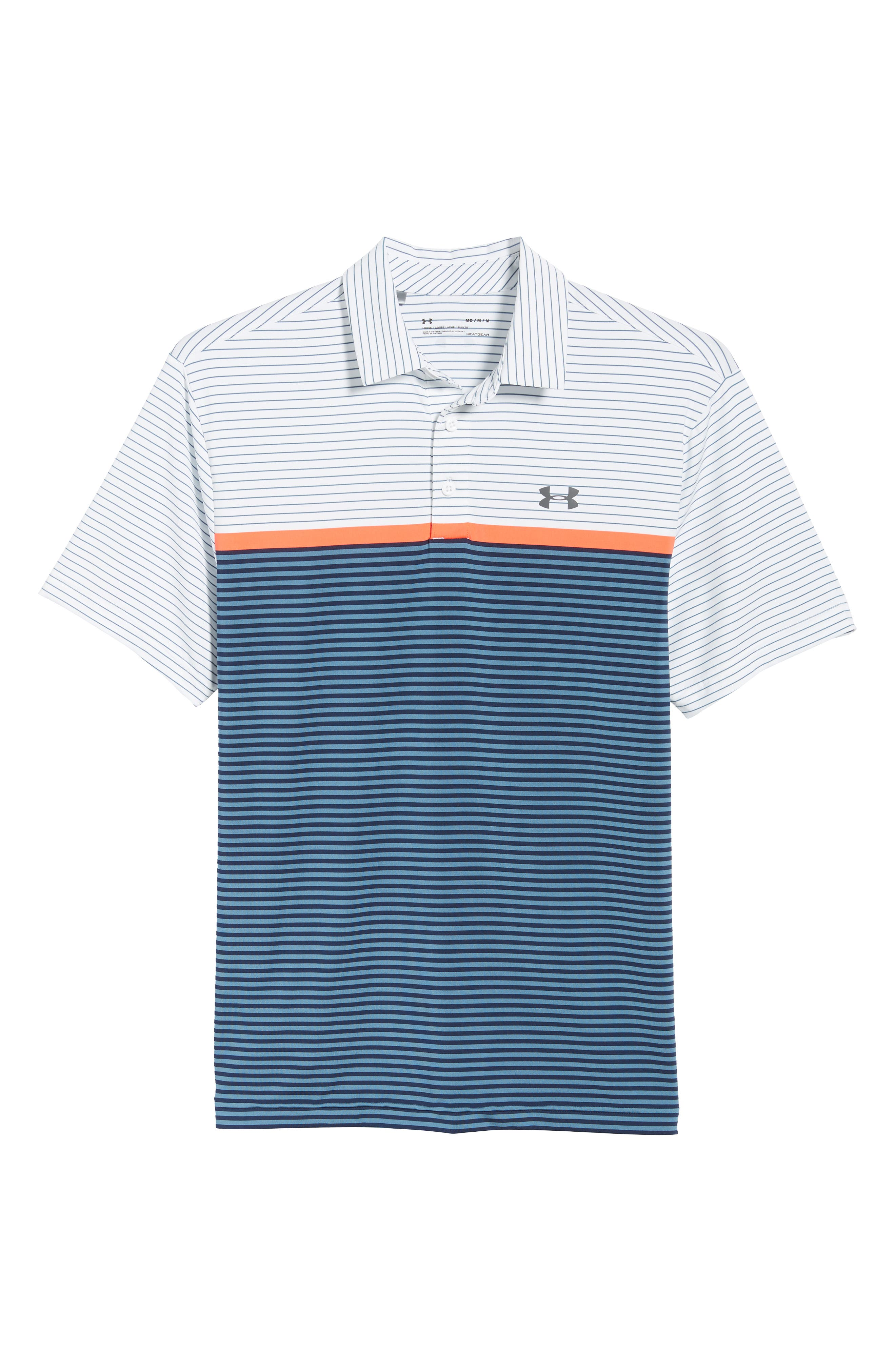 'Playoff' Loose Fit Short Sleeve Polo,                             Alternate thumbnail 293, color,