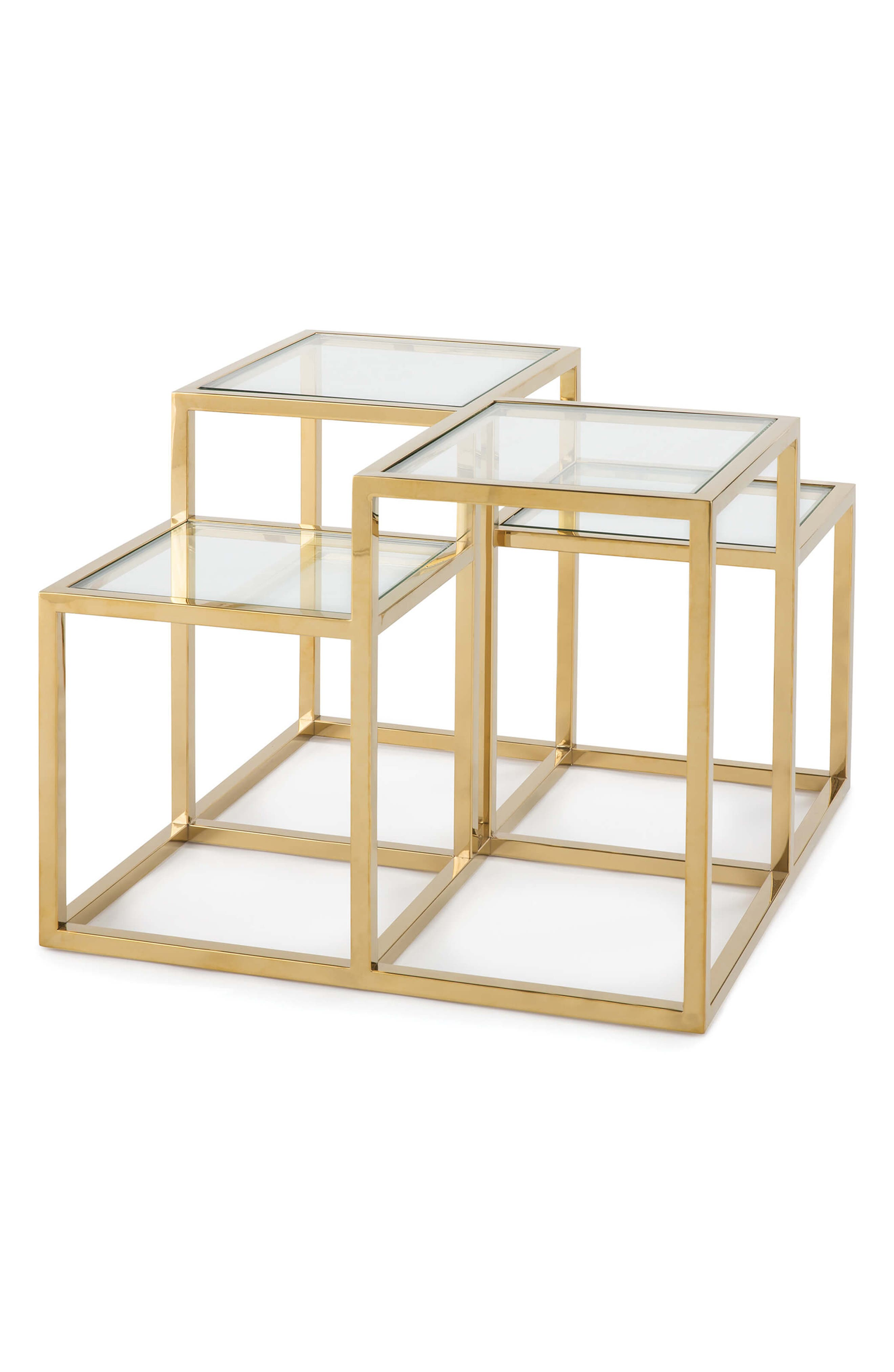 Regina Andrew Design Astoria Side Table Size One Size  Metallic