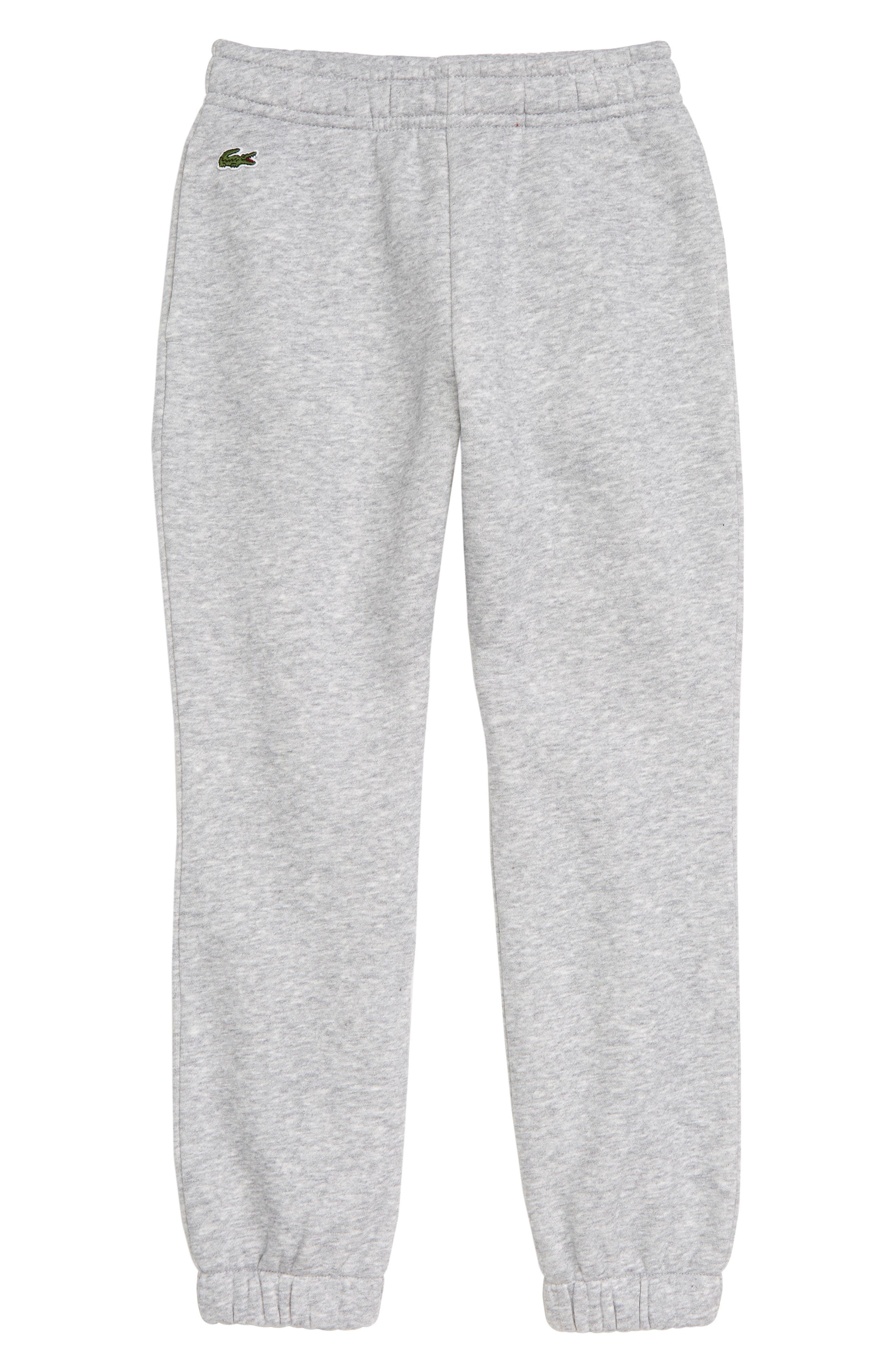 Fleece Pants,                         Main,                         color, SILVER GREY