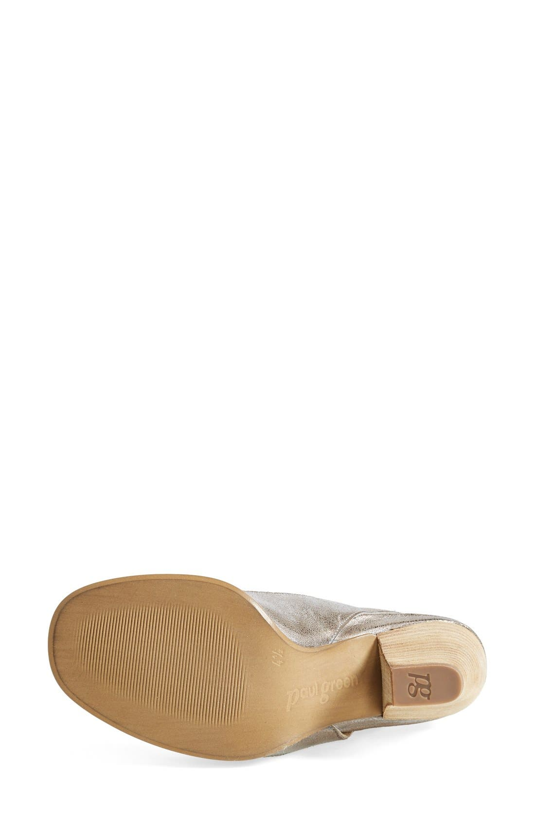 'Cayanne' Leather Peep Toe Sandal,                             Alternate thumbnail 35, color,