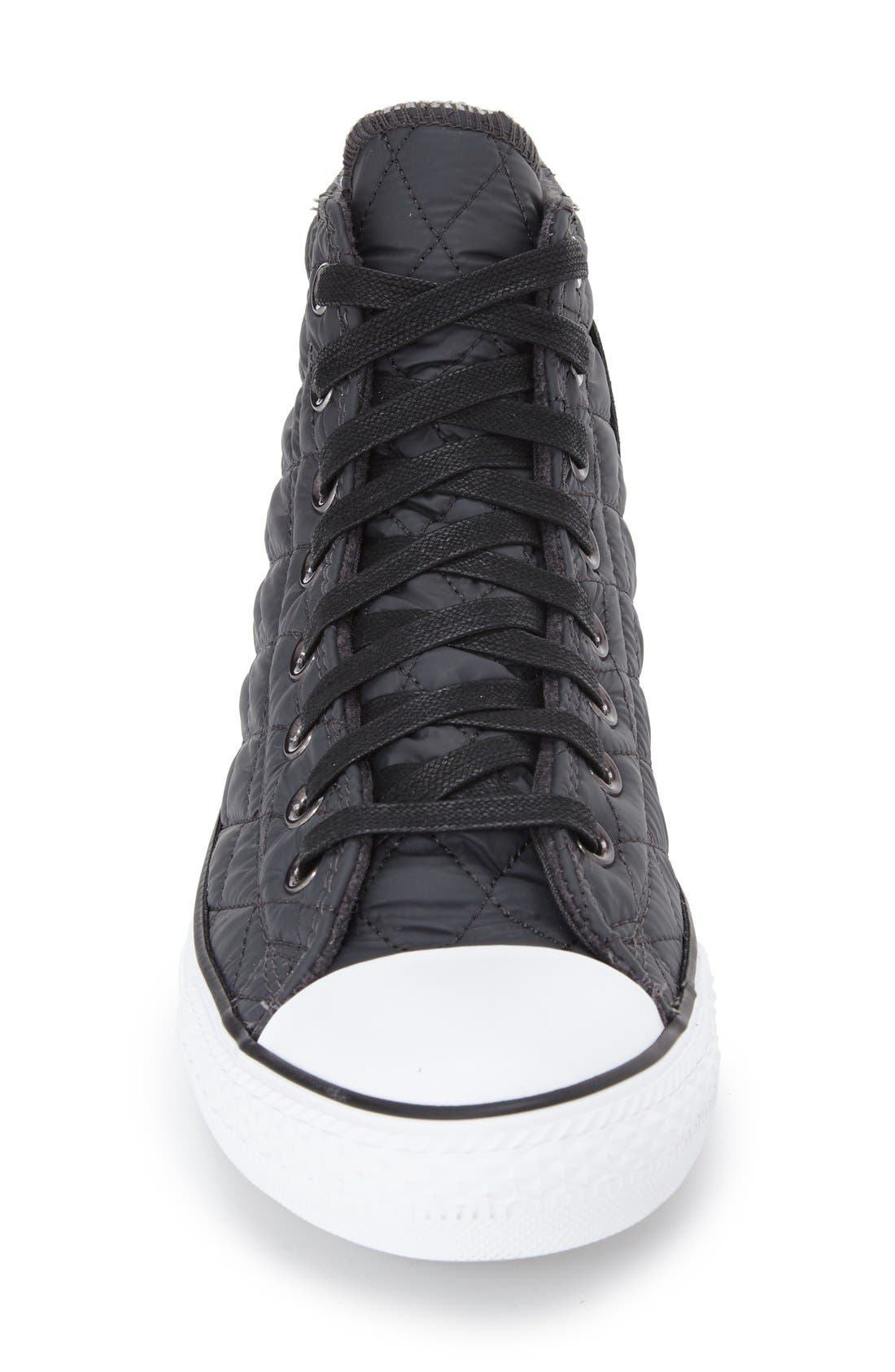 CONVERSE,                             Chuck Taylor<sup>®</sup> All Star<sup>®</sup> Quilted High Top Sneaker,                             Alternate thumbnail 2, color,                             020