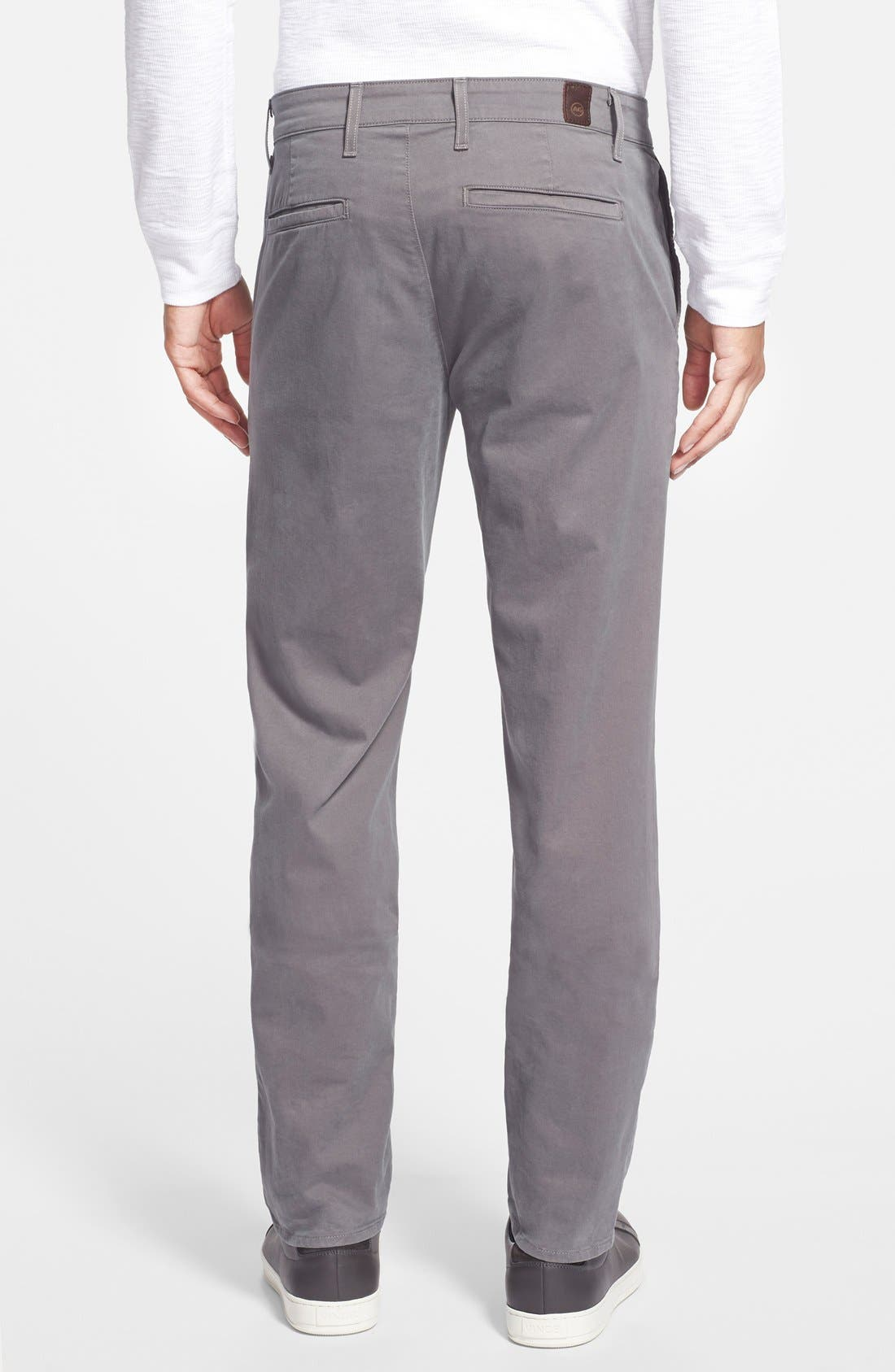 'The Lux' Tailored Straight Leg Chinos,                             Alternate thumbnail 24, color,