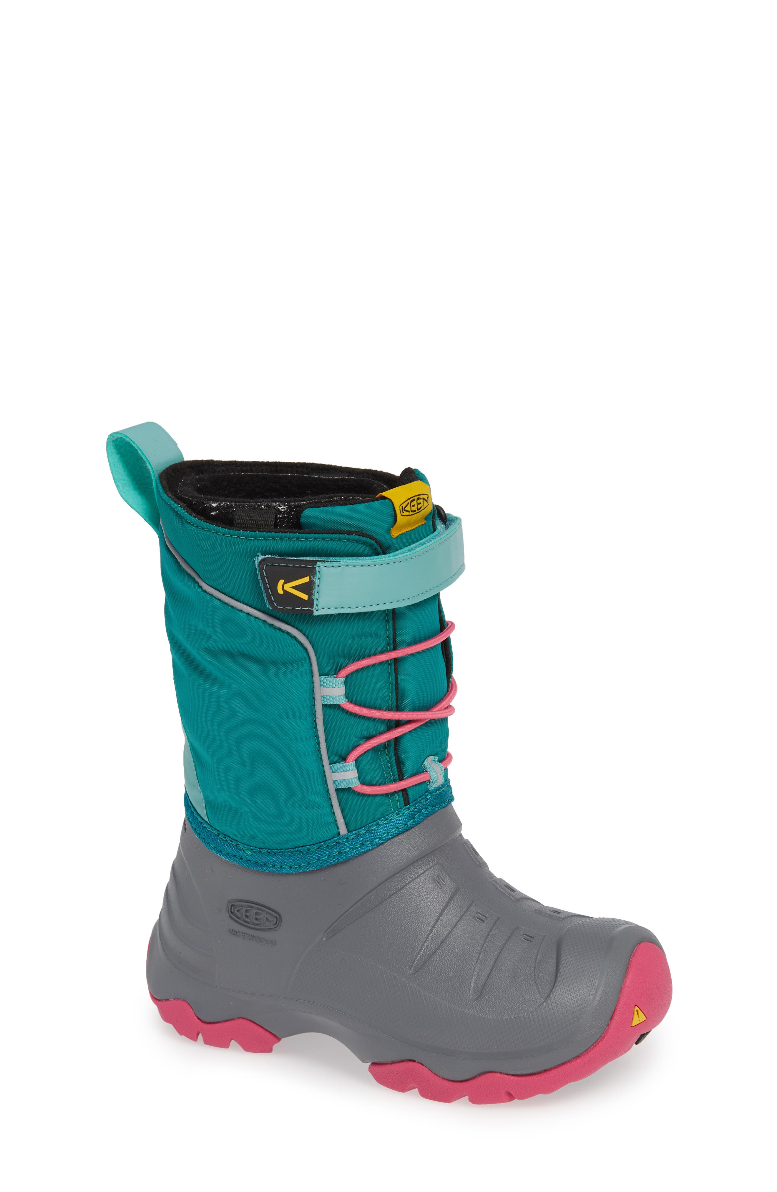 Toddler Keen Lumi Waterproof Boot, Blue/green