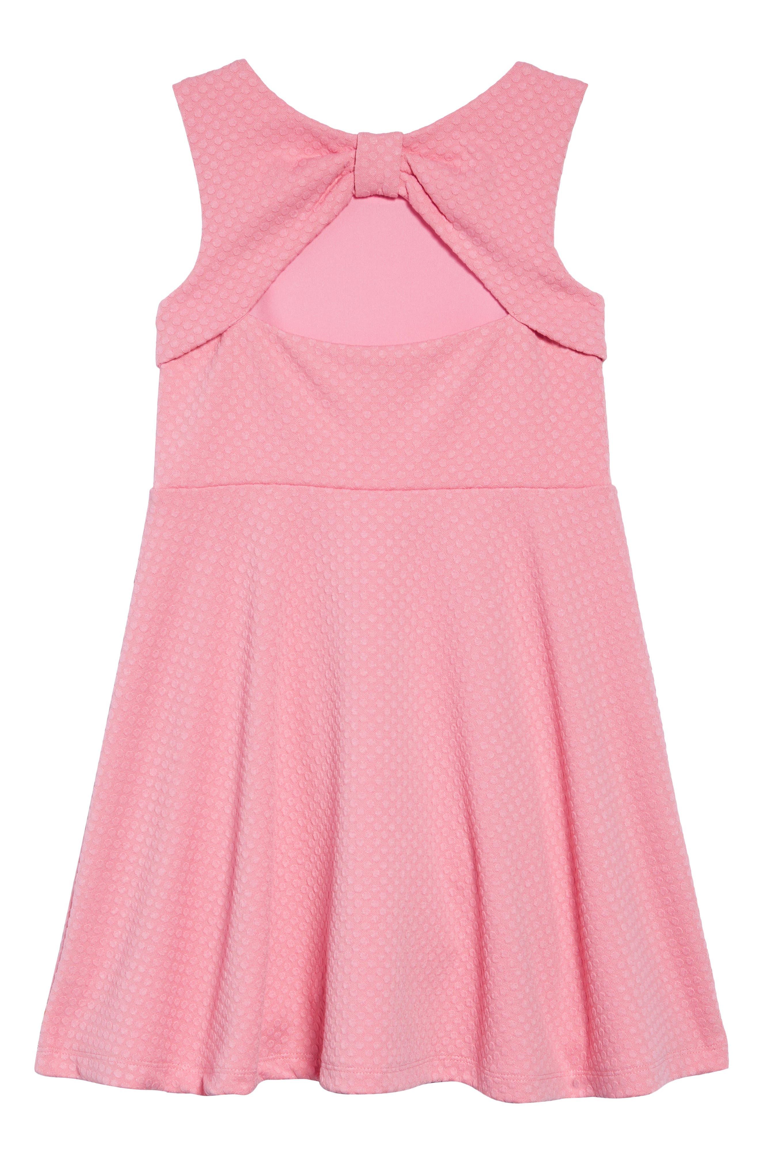 vivian textured dress,                             Alternate thumbnail 2, color,                             ROSEBUD