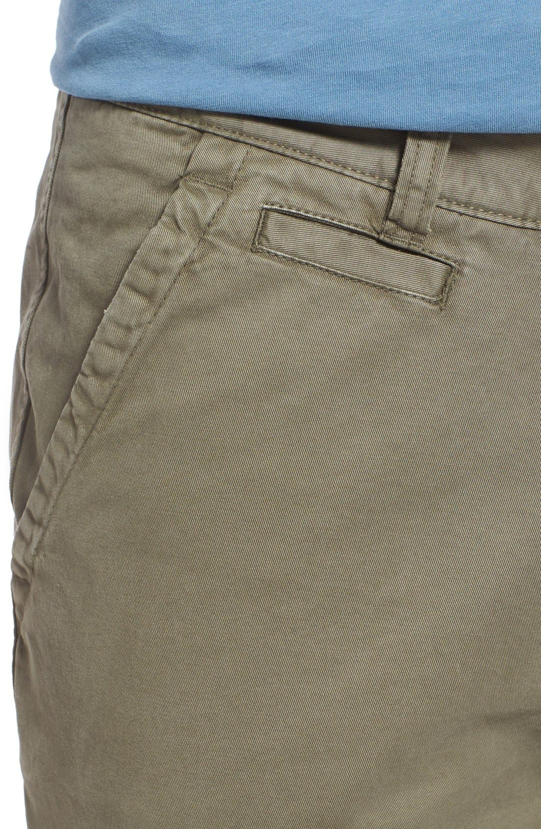 'Sahara' Trim Fit Vintage Washed Twill Chinos,                             Alternate thumbnail 28, color,