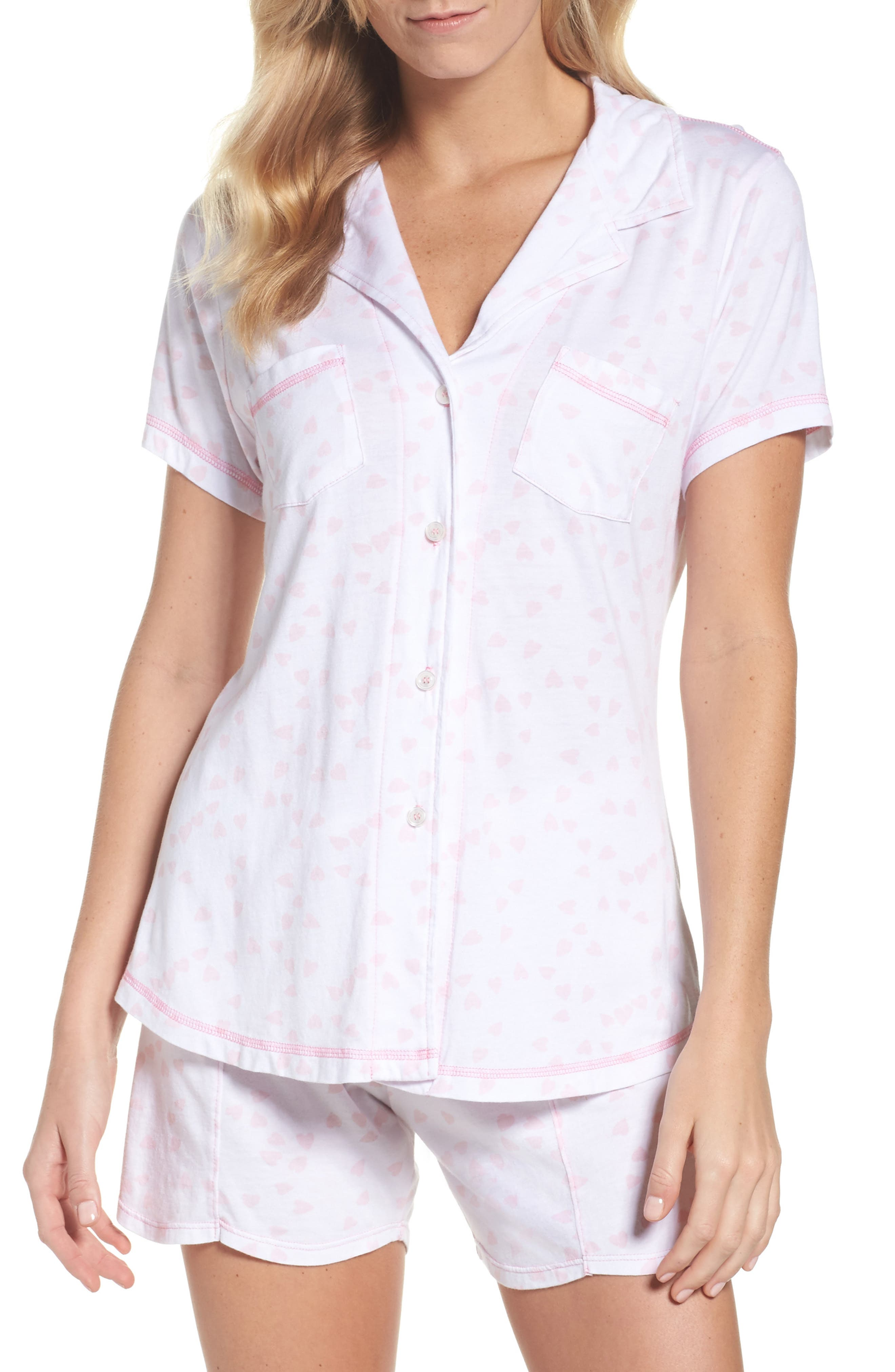 Donna - Luvey Dovey Short Pajamas,                         Main,                         color, 650