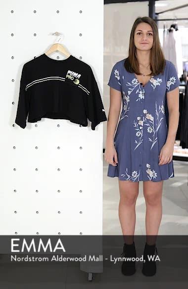 PUMA by Rihanna Graphic Short Sleeve Crop Sweatshirt, sales video thumbnail