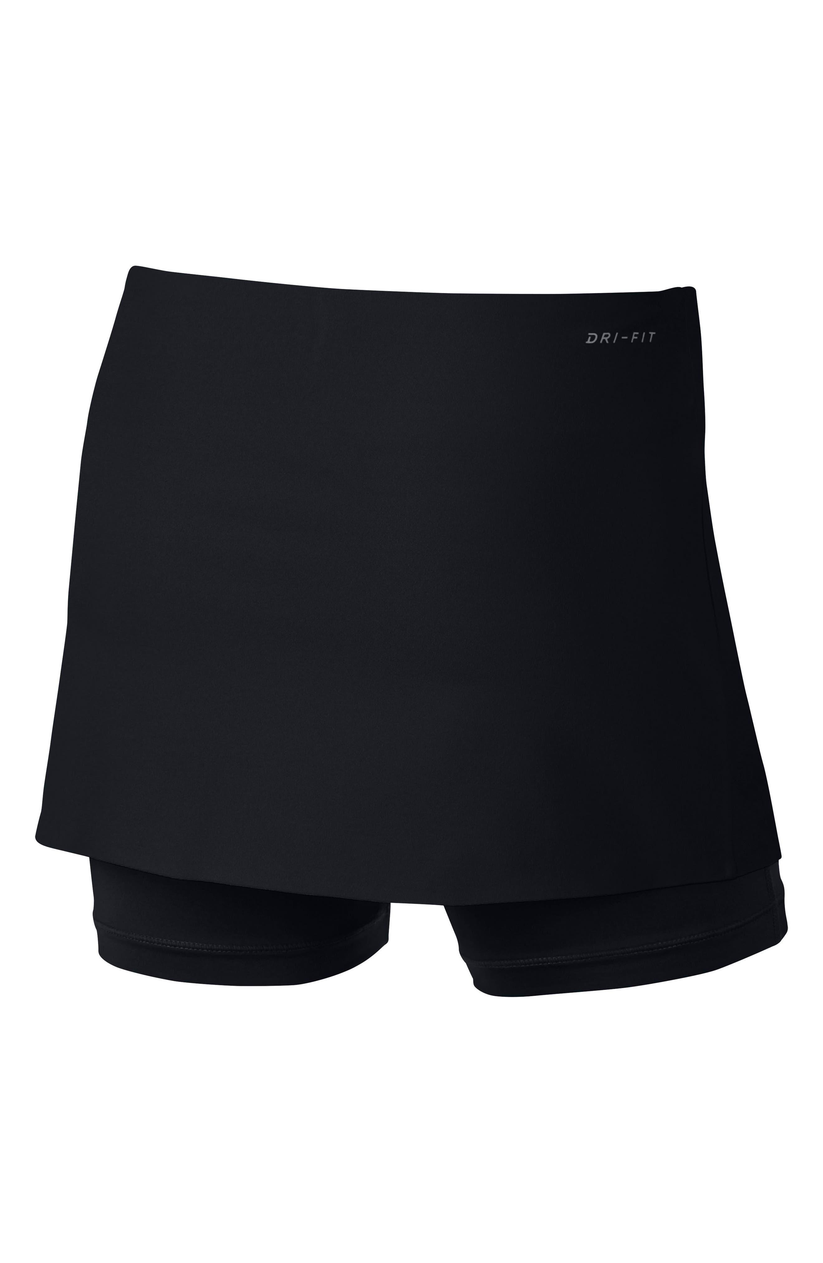 Power Tennis Skirt,                             Alternate thumbnail 4, color,
