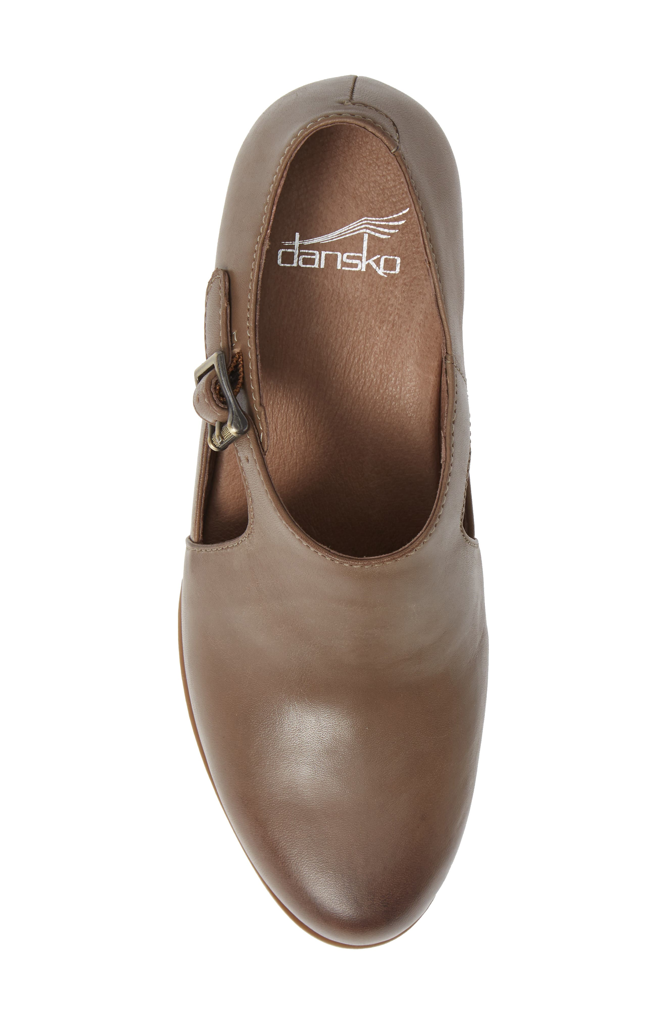 Hollie Bootie,                             Alternate thumbnail 5, color,                             TAUPE BURNISHED LEATHER