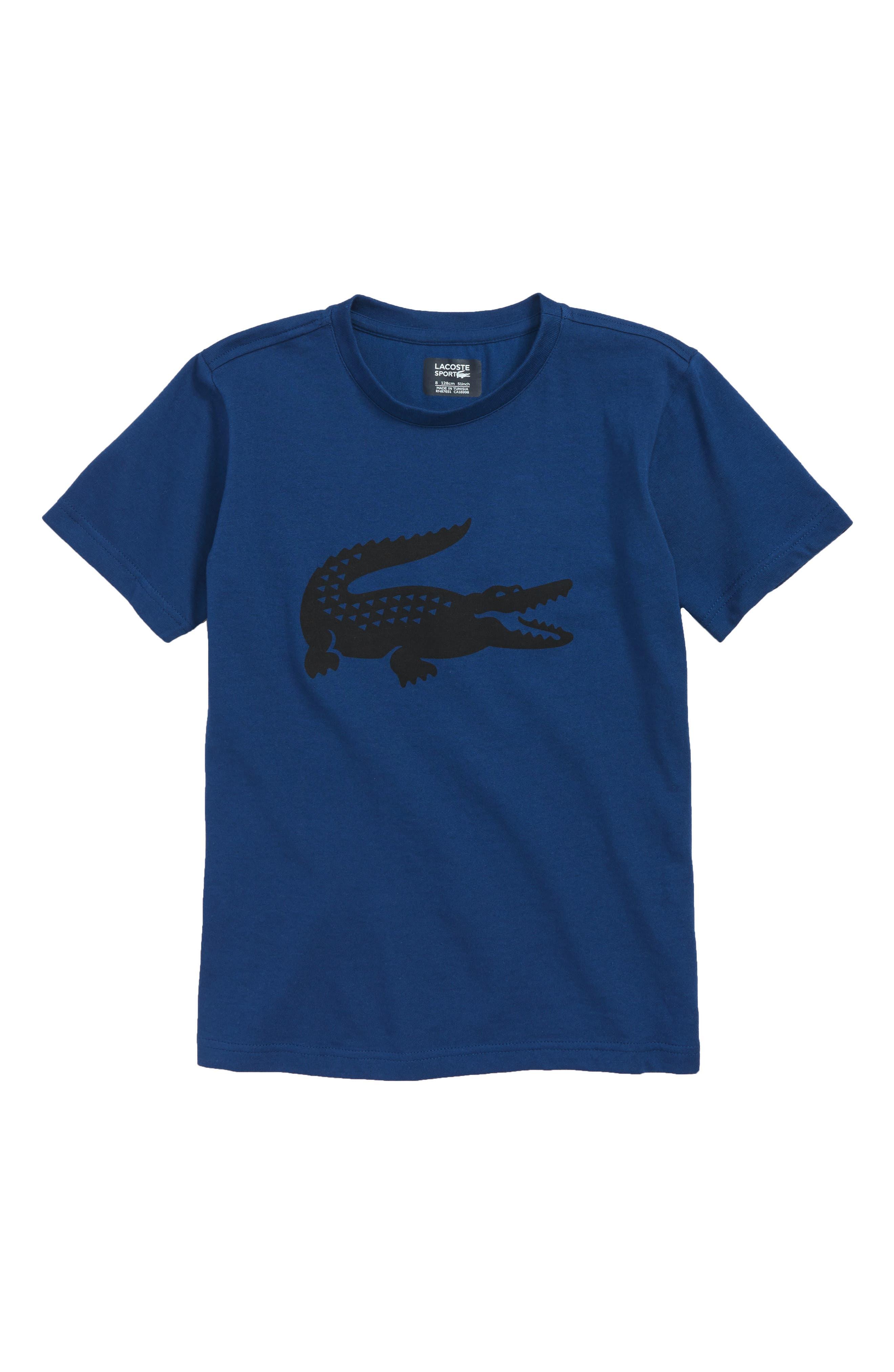 Boys Lacoste Croc Graphic TShirt
