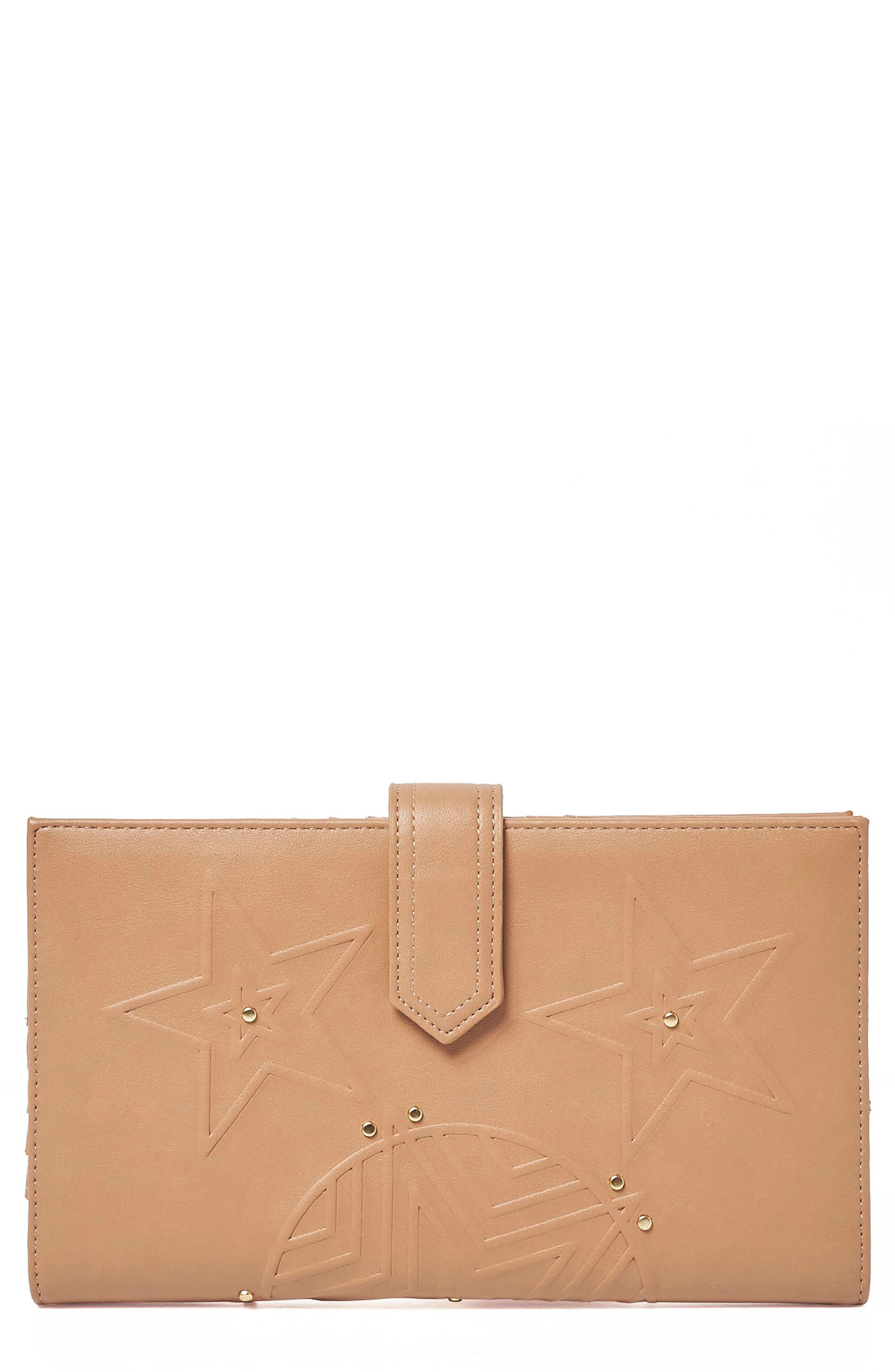 Starstruck Vegan Leather Wallet,                             Main thumbnail 3, color,