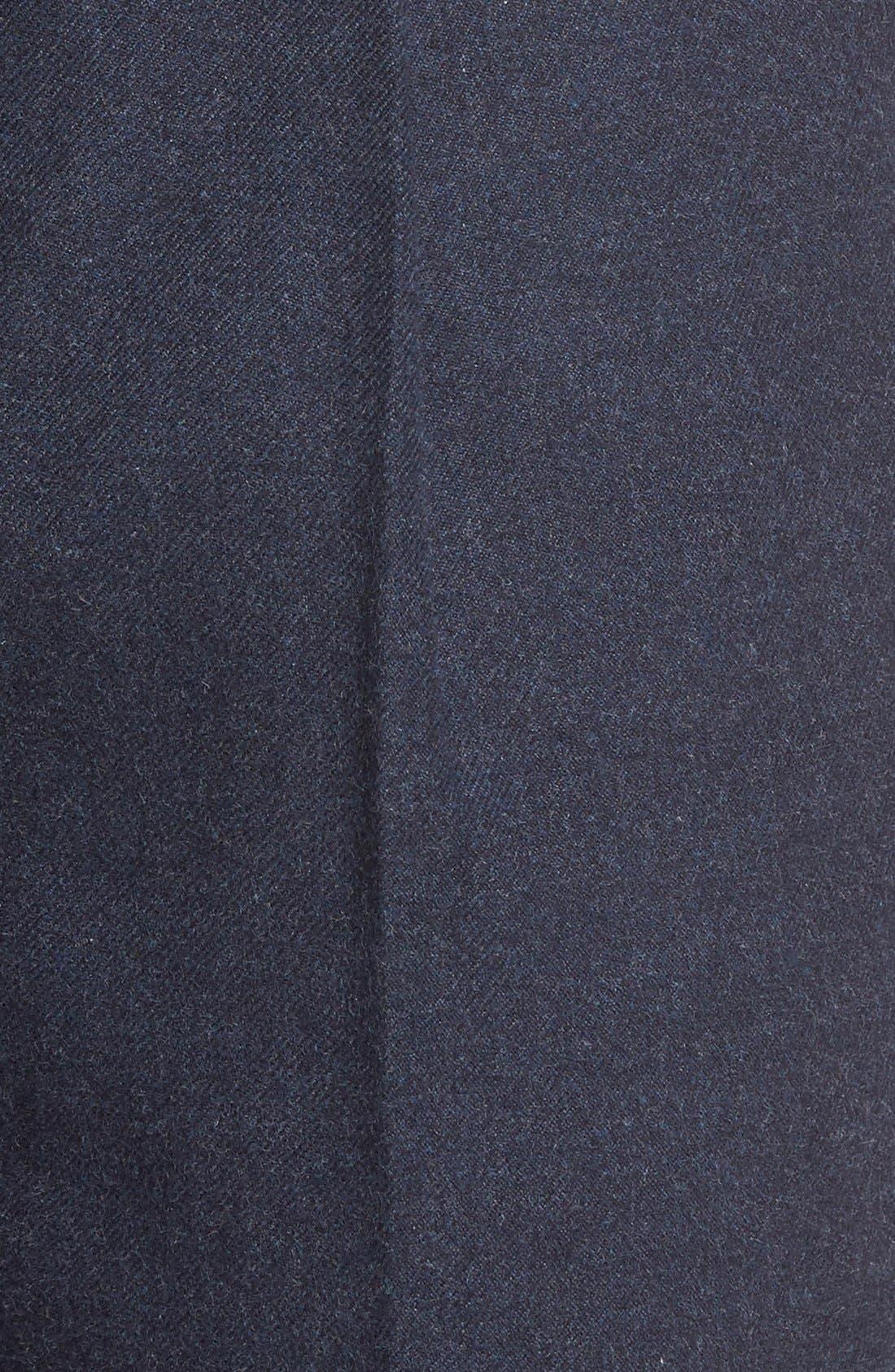 BONOBOS,                             Slim Fit Flannel Trousers,                             Alternate thumbnail 9, color,                             400