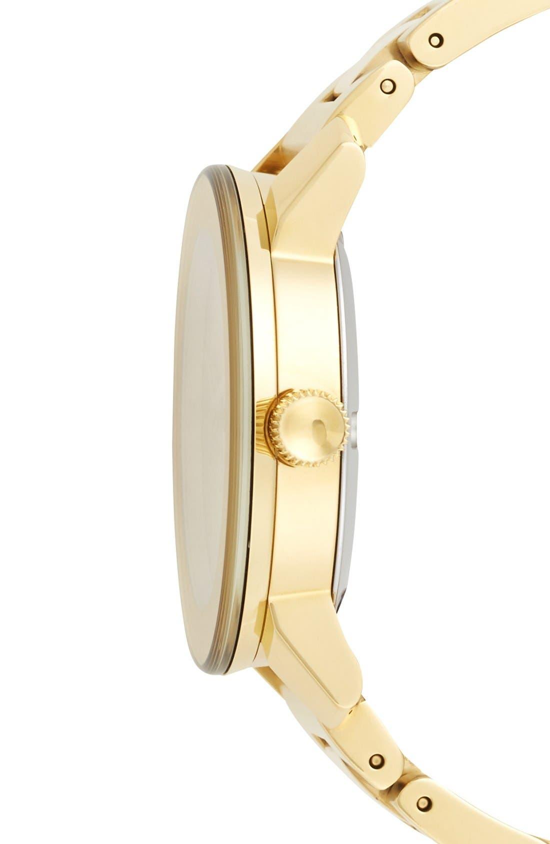 'Bold' Round Bracelet Watch, 36mm,                             Alternate thumbnail 17, color,