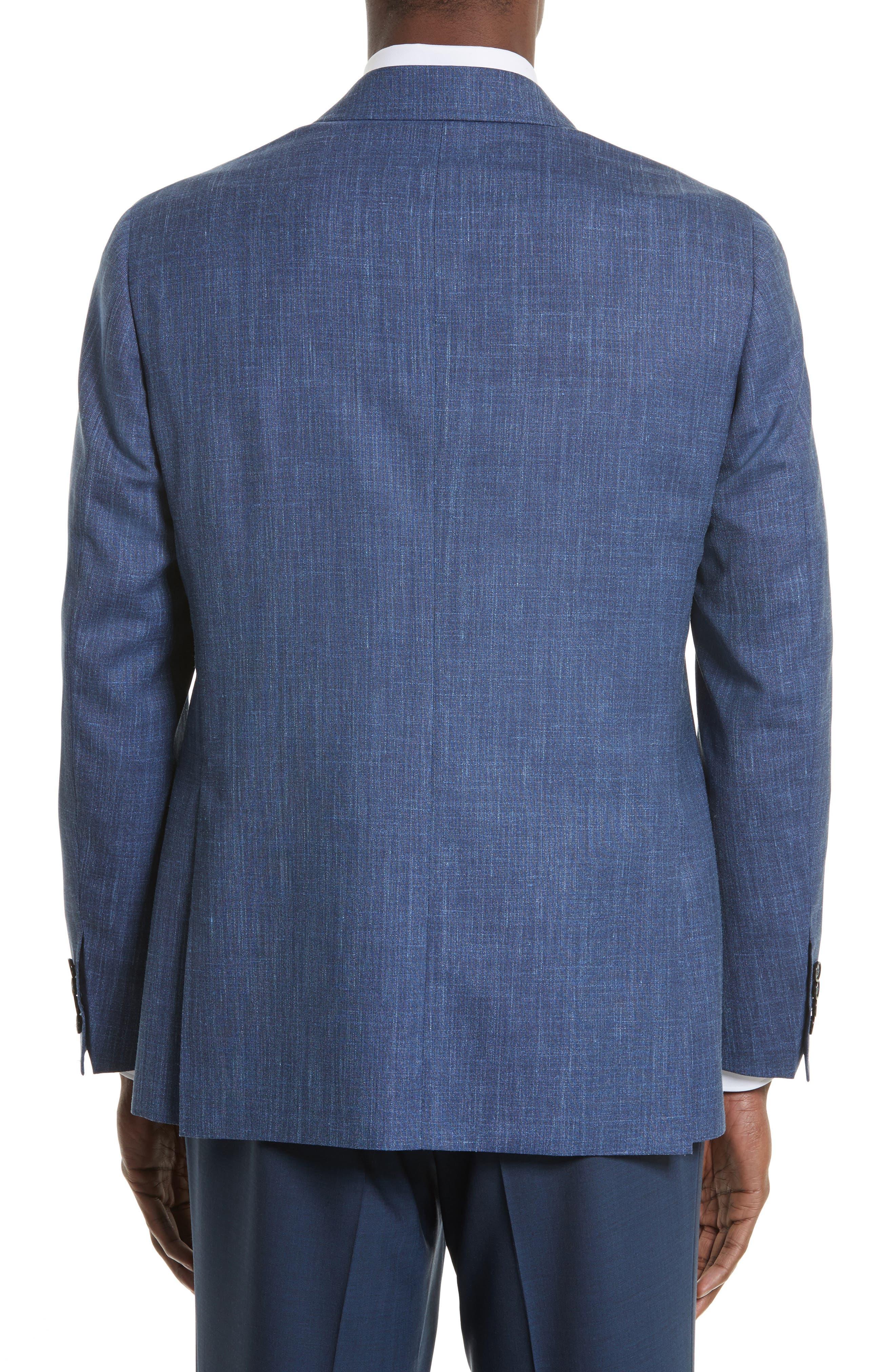 Kei Classic Fit Wool Blend Blazer,                             Alternate thumbnail 2, color,                             400