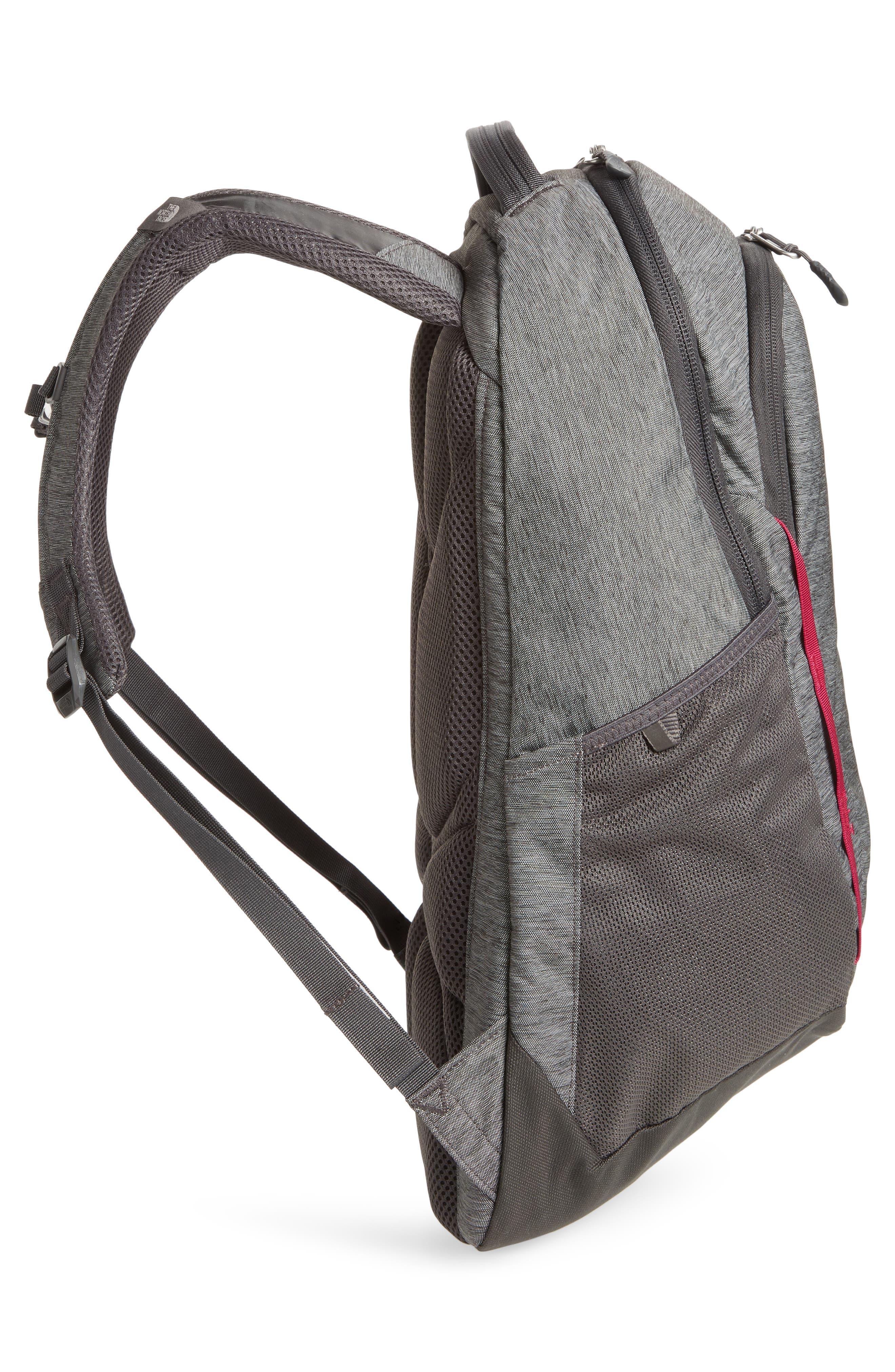 Vault Backpack,                             Alternate thumbnail 4, color,                             ASPHALT GREY/ DRAMATIC PLUM