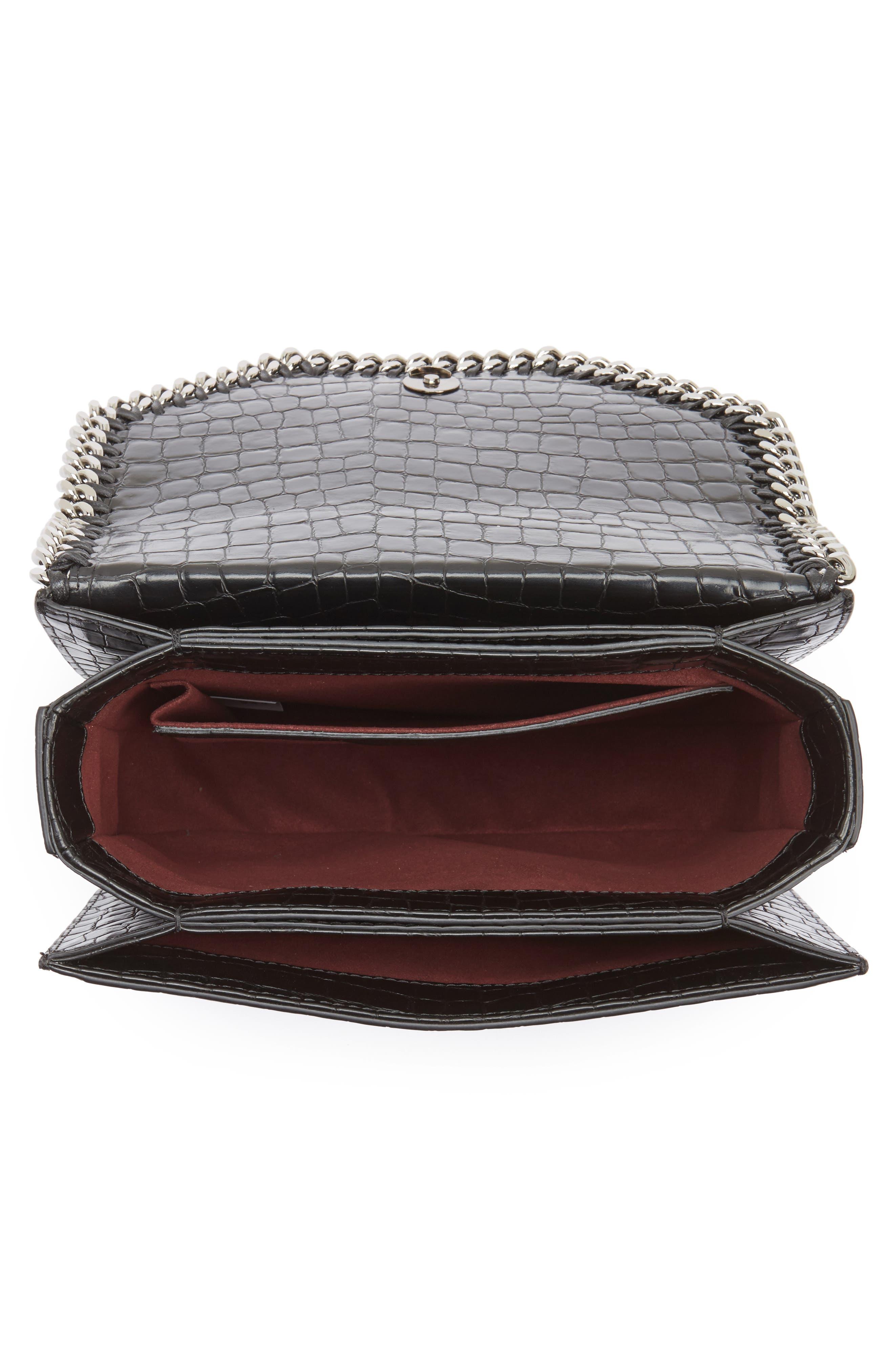 Falabella Box Faux Leather Shoulder Bag,                             Alternate thumbnail 7, color,