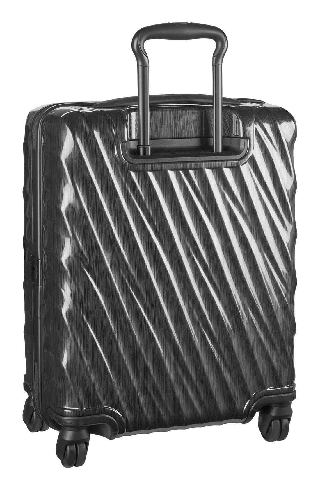 19 Degree 22 Inch Continental Wheeled Carry-On,                             Alternate thumbnail 3, color,                             001