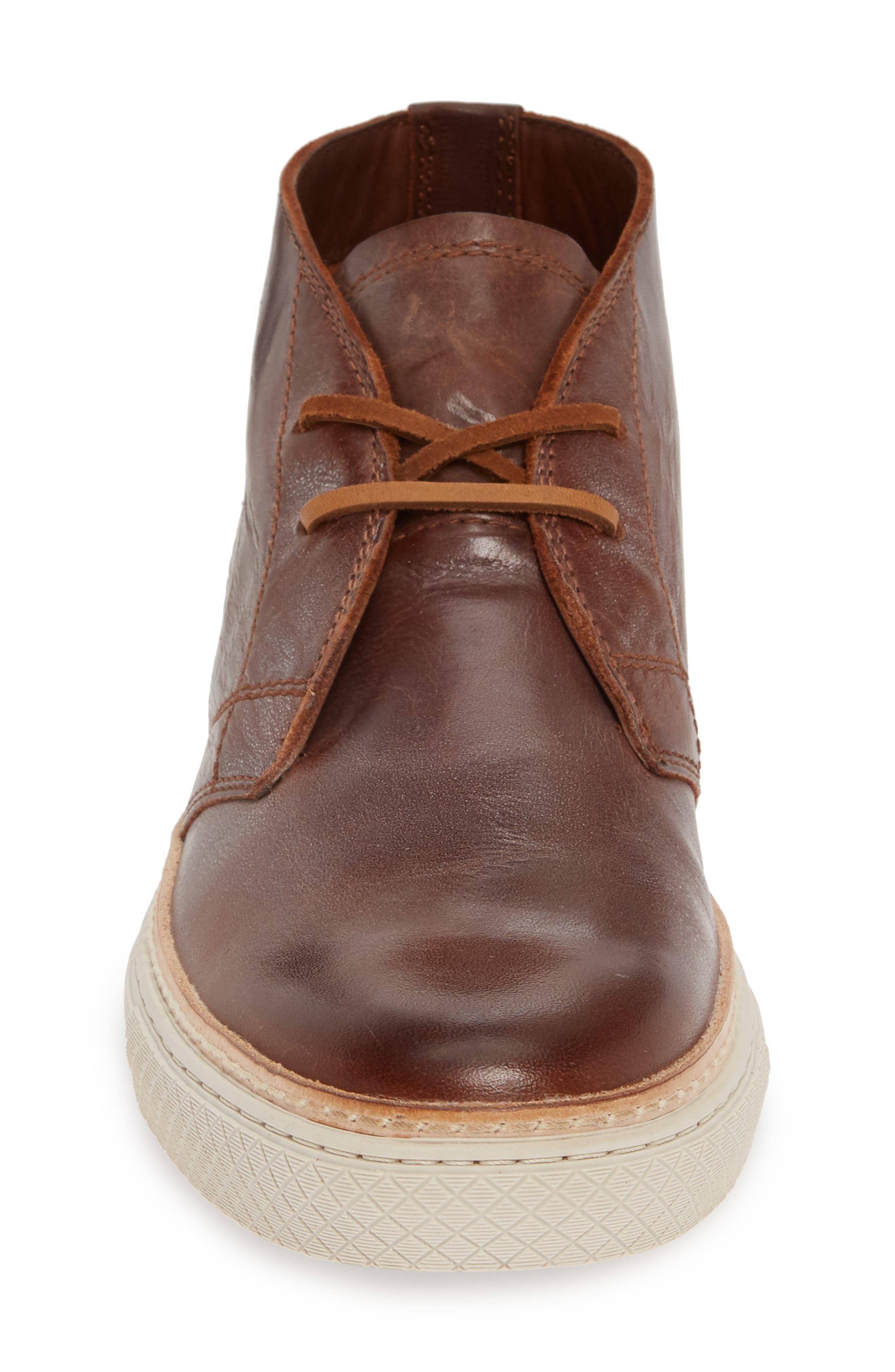 Essex Chukka Boot,                             Alternate thumbnail 4, color,                             COGNAC LEATHER