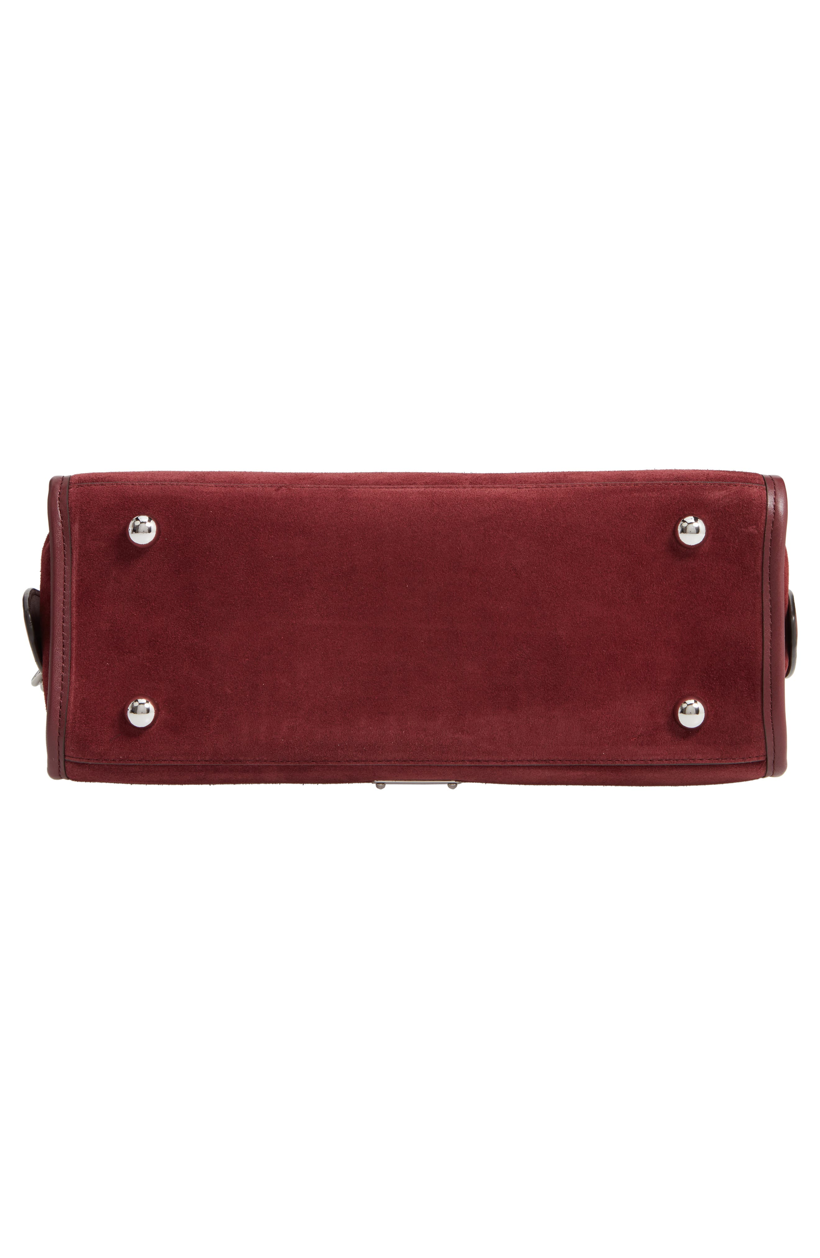 Bedford Suede Satchel,                             Alternate thumbnail 6, color,                             600