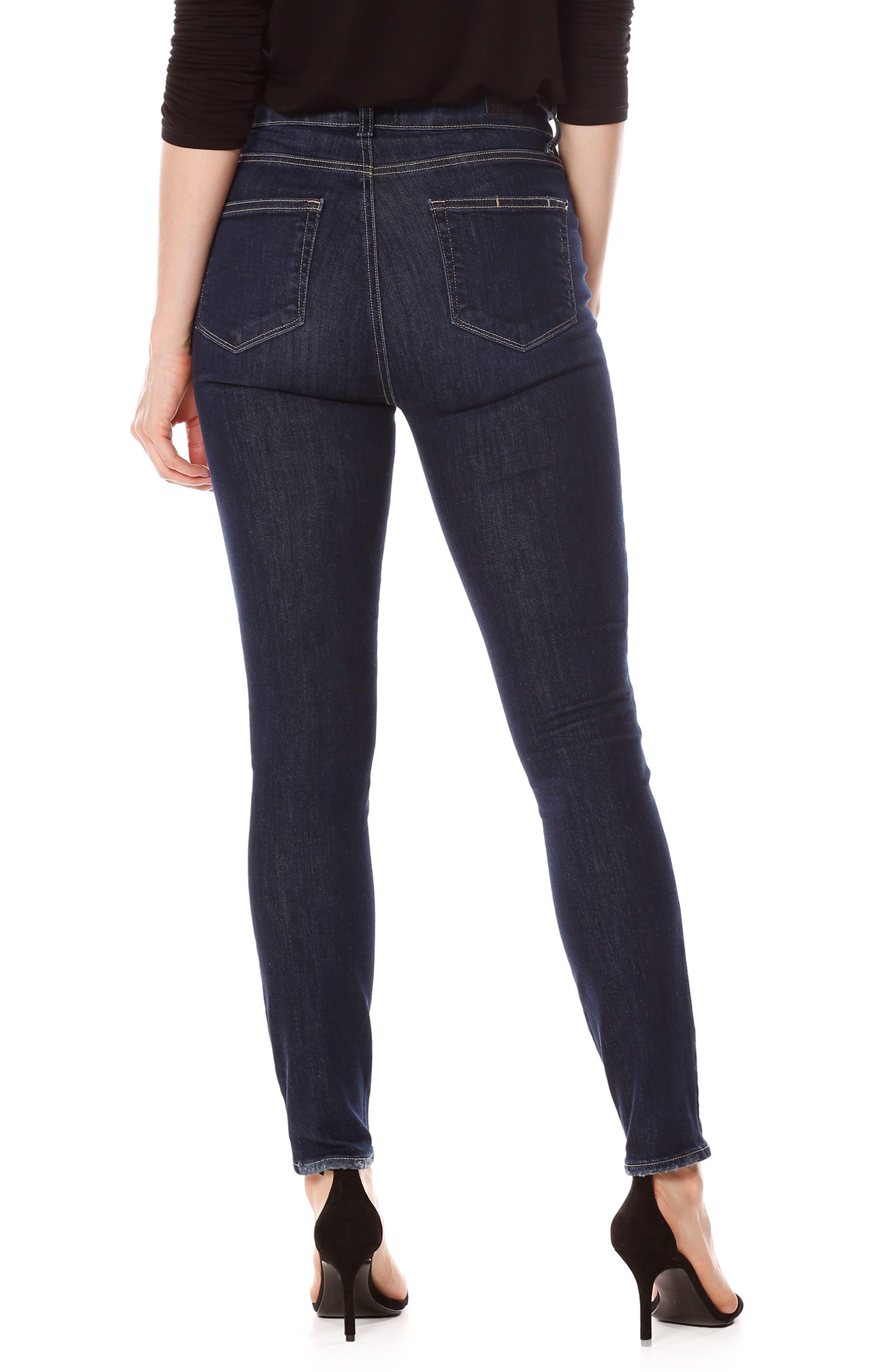 Margot High Waist Ankle Skinny Jeans,                             Alternate thumbnail 2, color,                             400